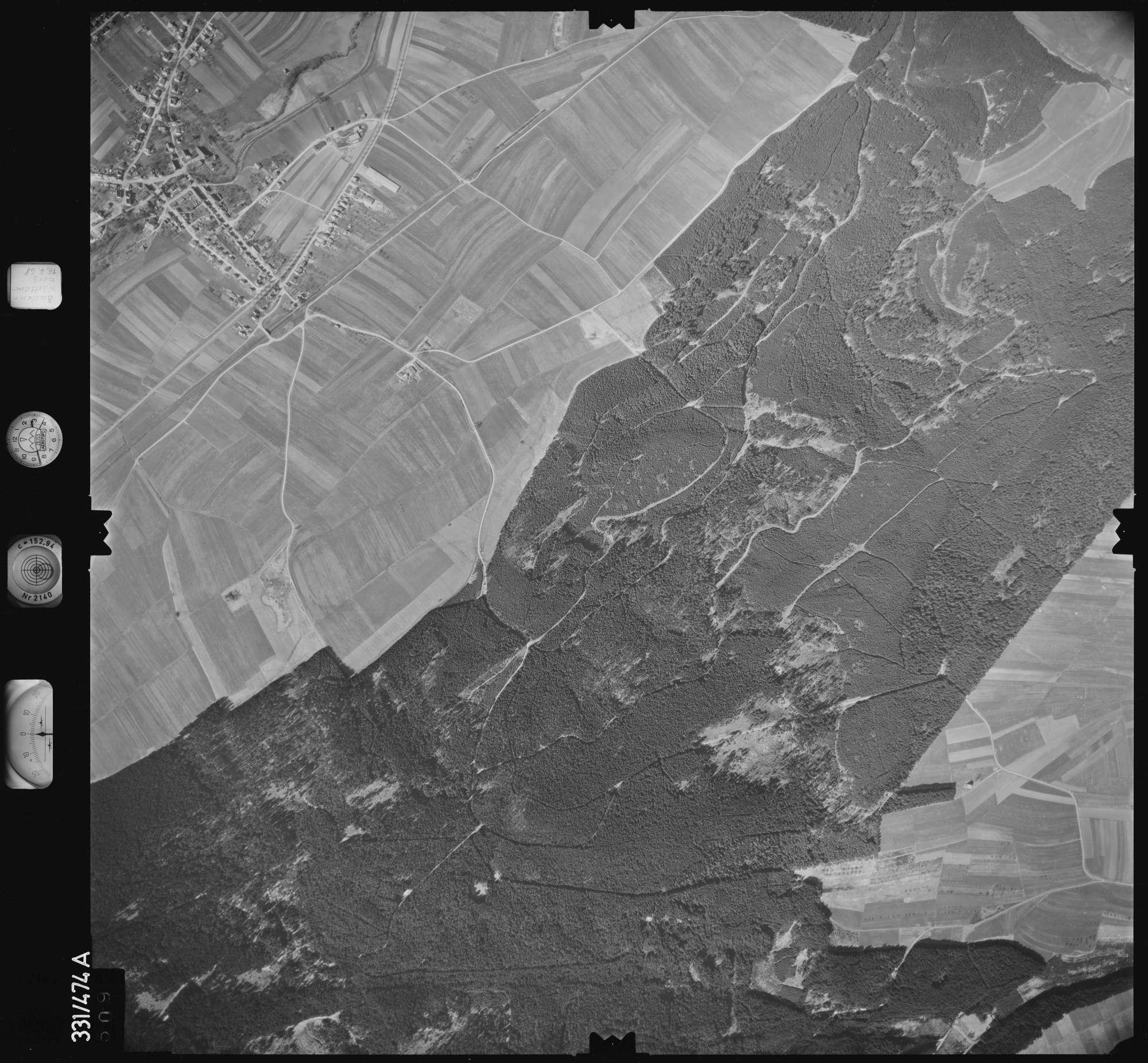 Luftbild: Film 89 Bildnr. 509, Bild 1