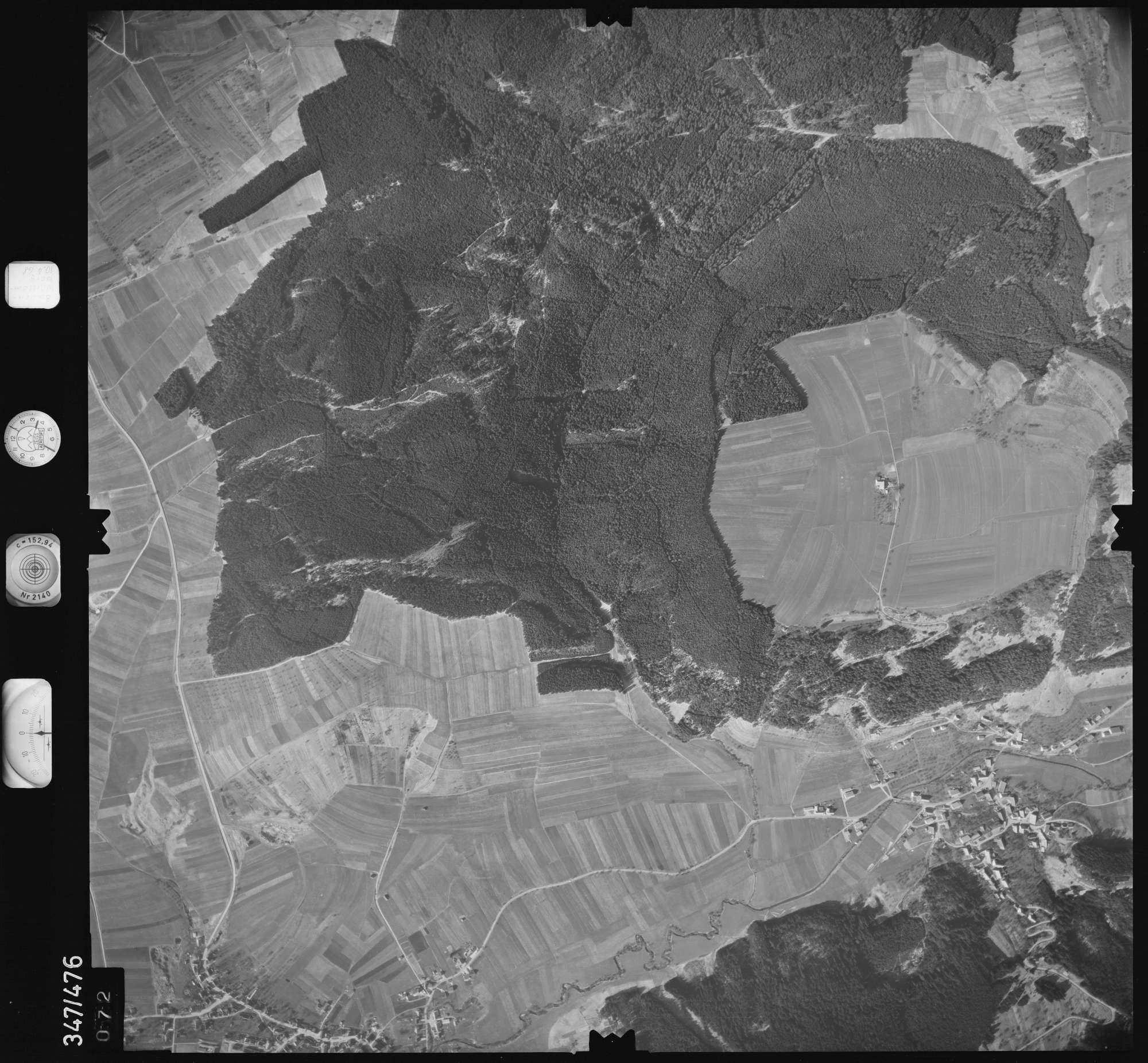 Luftbild: Film 43 Bildnr. 72, Bild 1