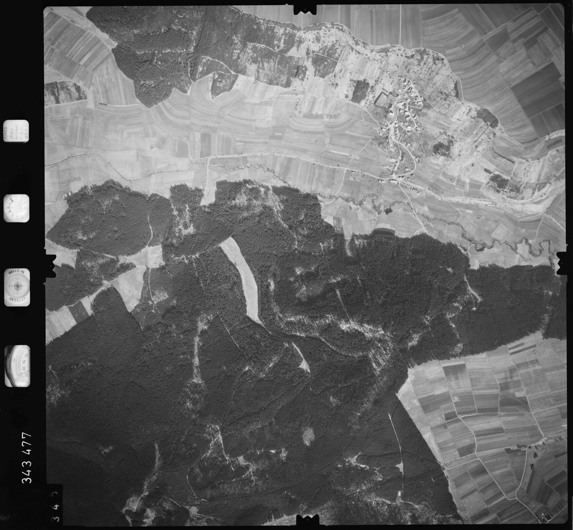 Luftbild: Film 46 Bildnr. 345, Bild 1