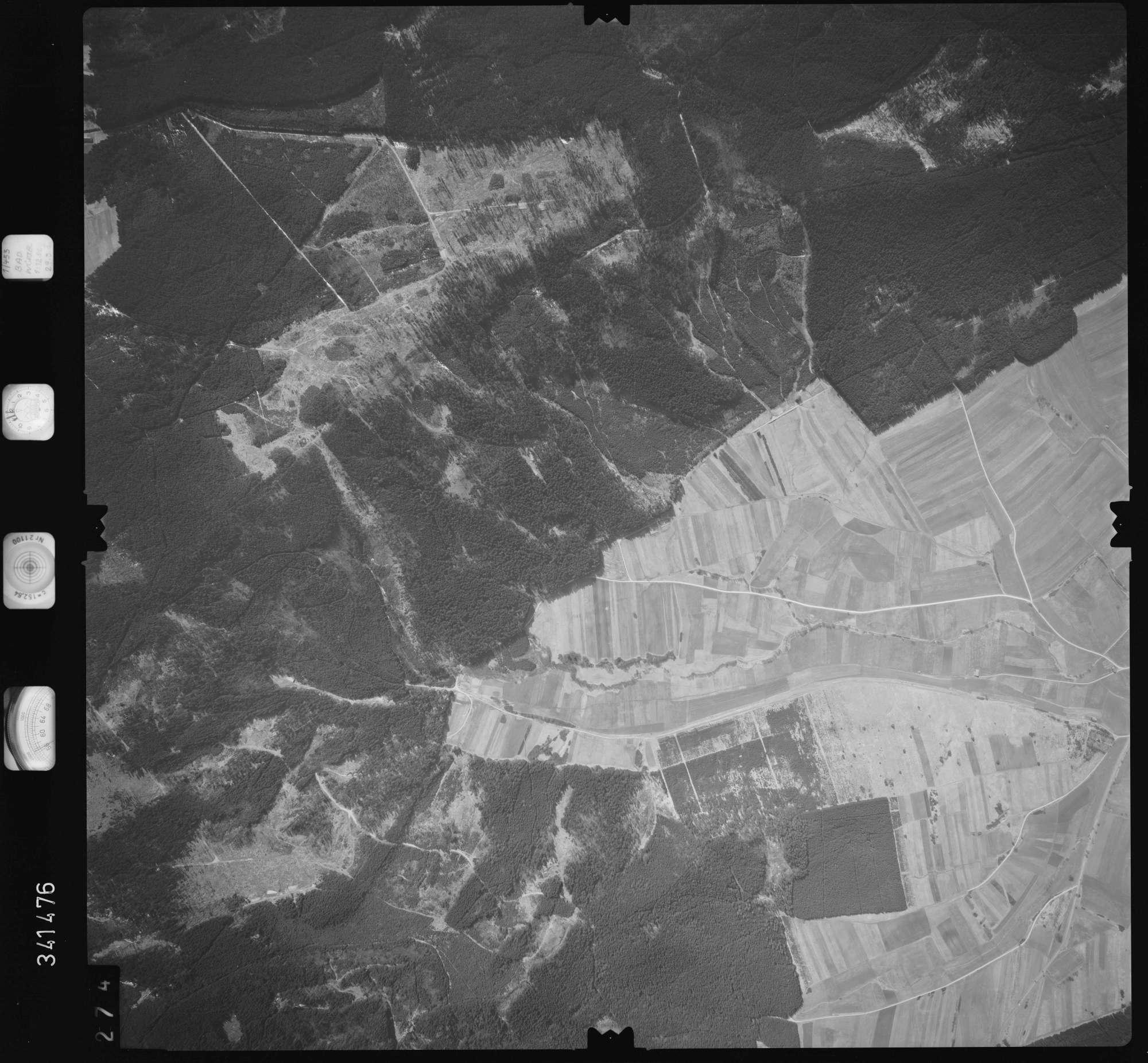 Luftbild: Film 50 Bildnr. 274, Bild 1