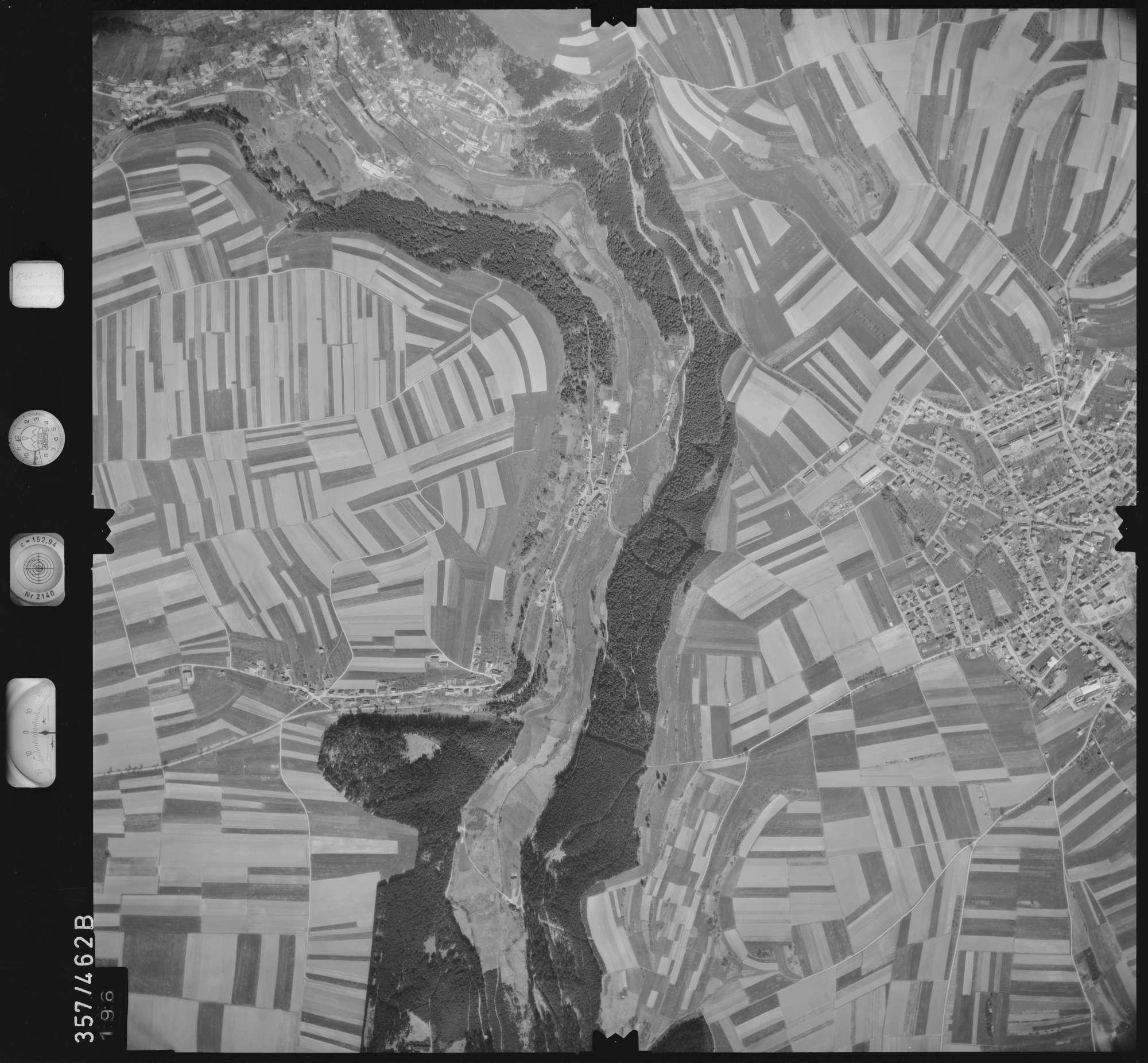 Luftbild: Film 11 Bildnr. 196, Bild 1