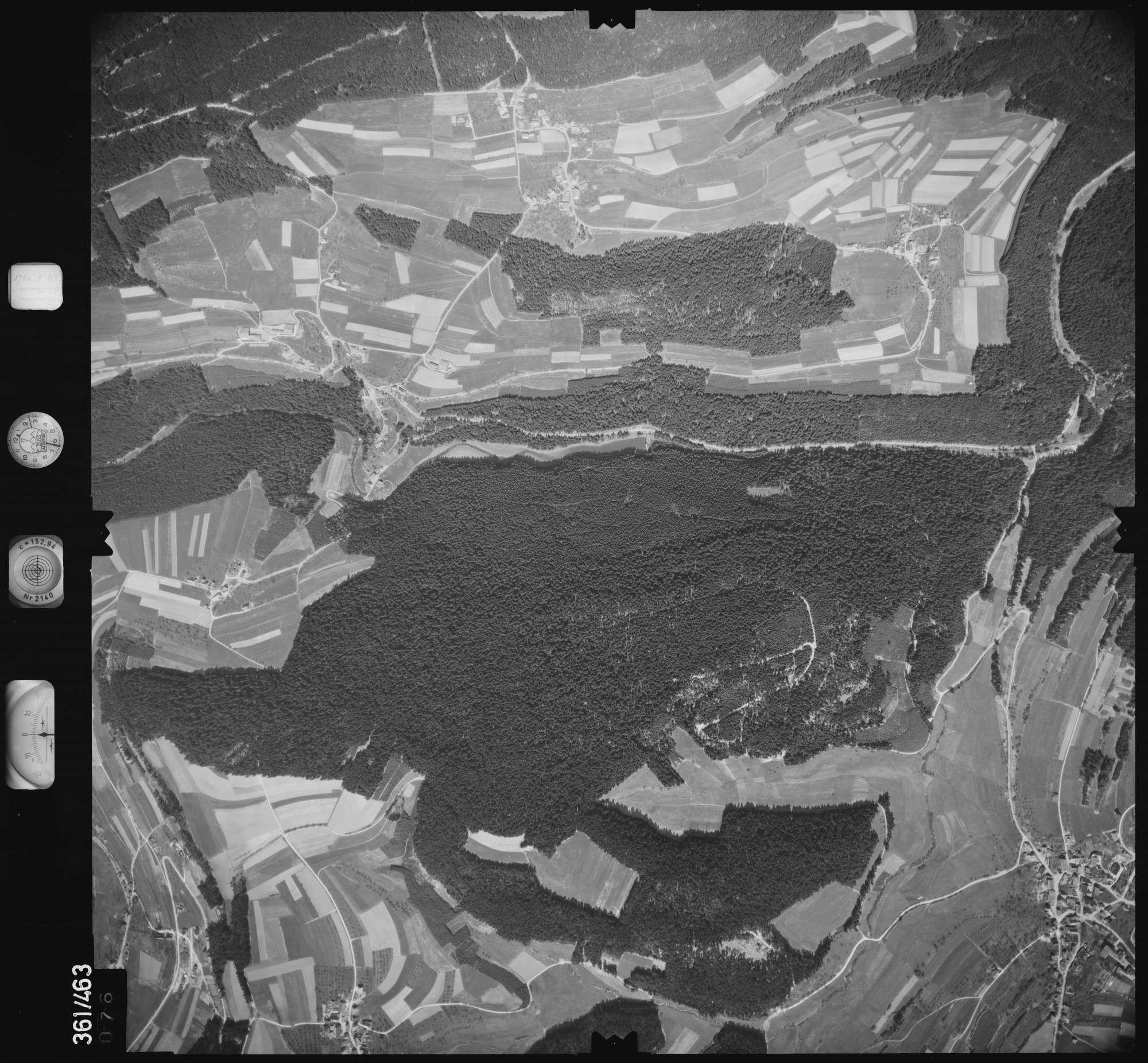 Luftbild: Film 15 Bildnr. 76, Bild 1