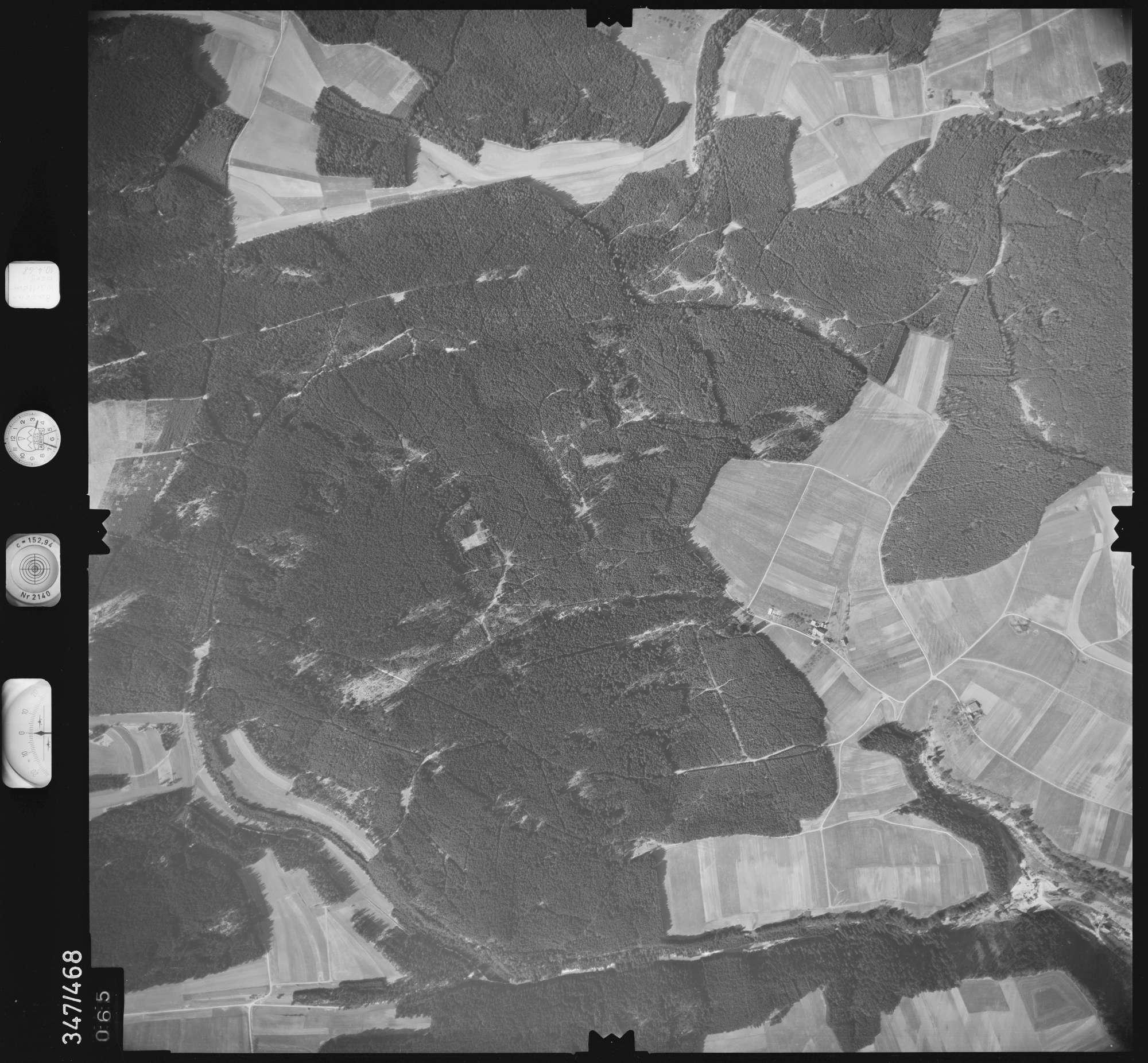 Luftbild: Film 43 Bildnr. 65, Bild 1
