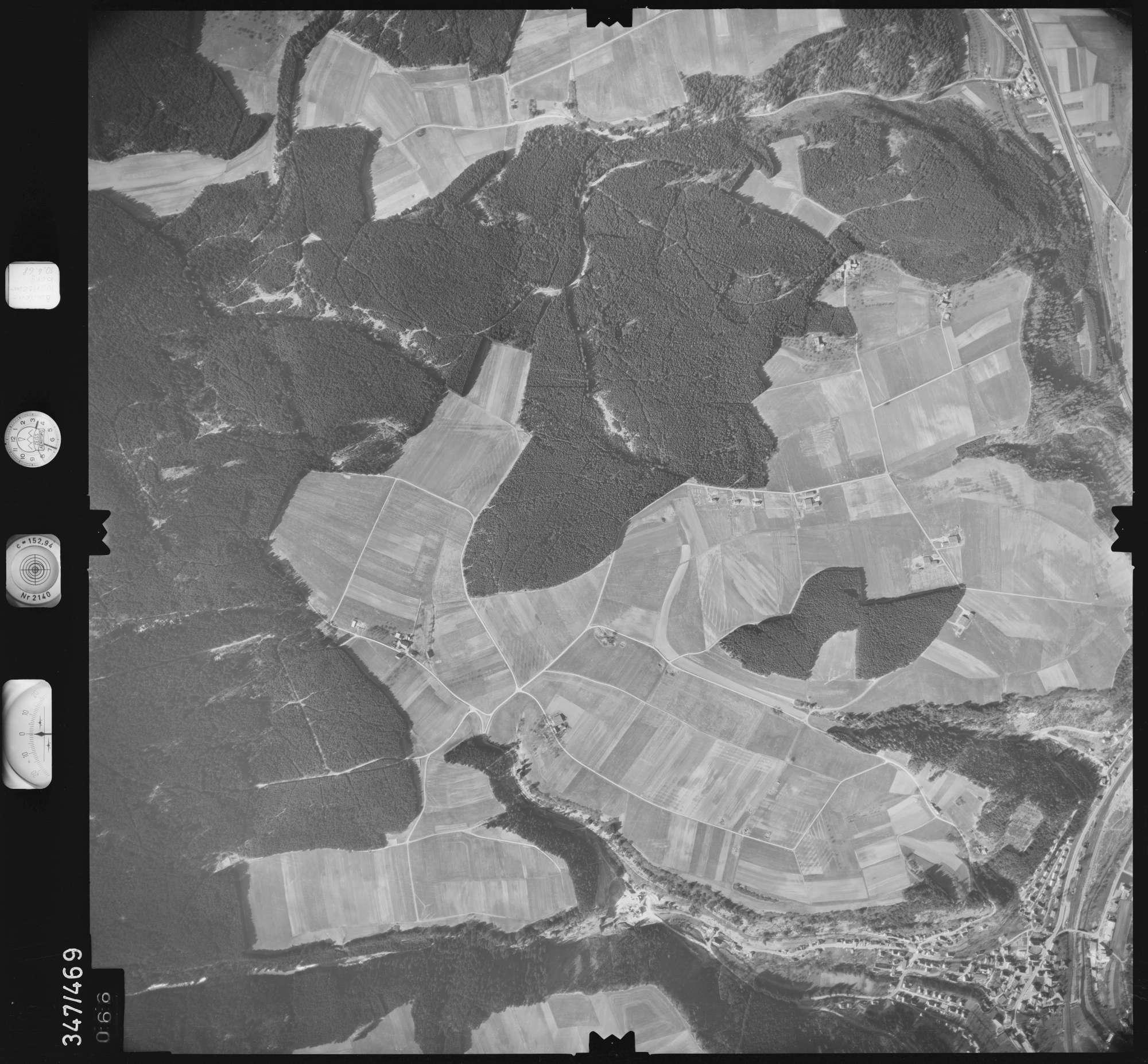 Luftbild: Film 43 Bildnr. 66, Bild 1