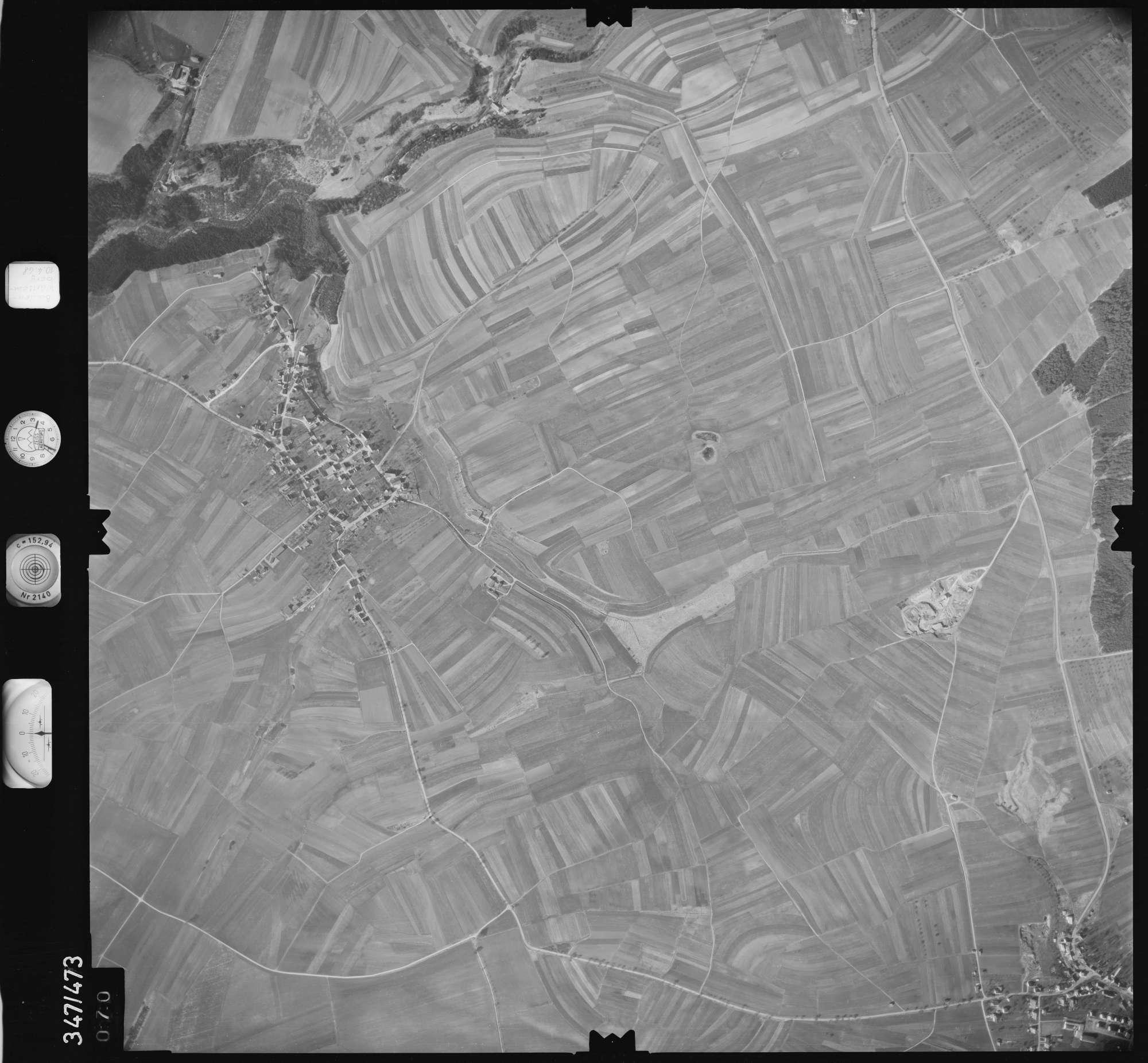 Luftbild: Film 43 Bildnr. 70, Bild 1