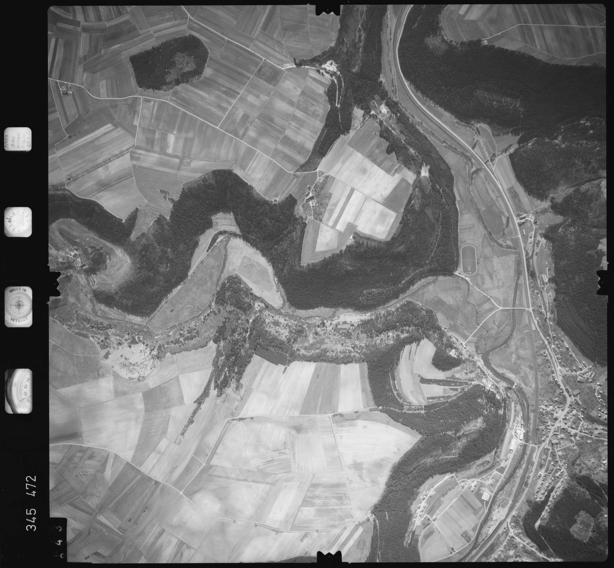 Luftbild: Film 44 Bildnr. 43, Bild 1