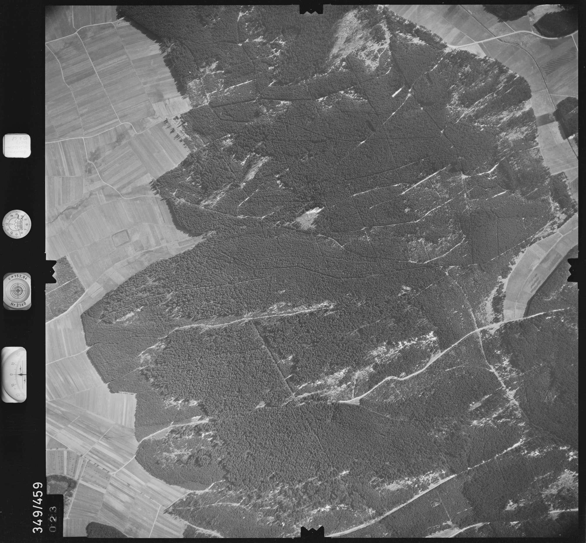 Luftbild: Film 43 Bildnr. 23, Bild 1