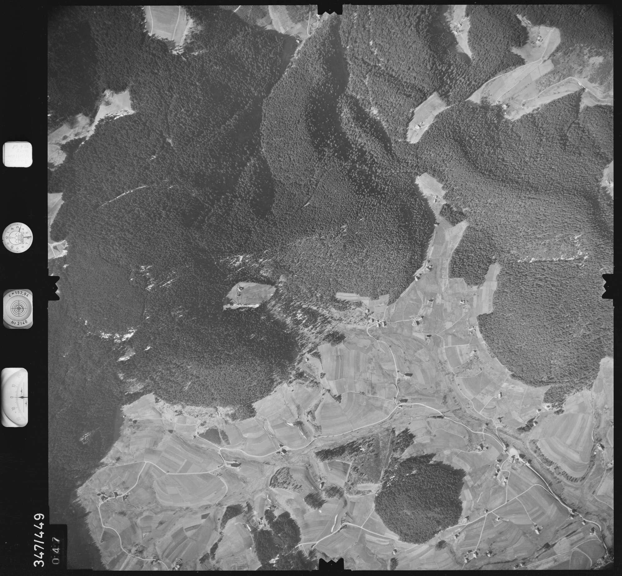 Luftbild: Film 43 Bildnr. 47, Bild 1