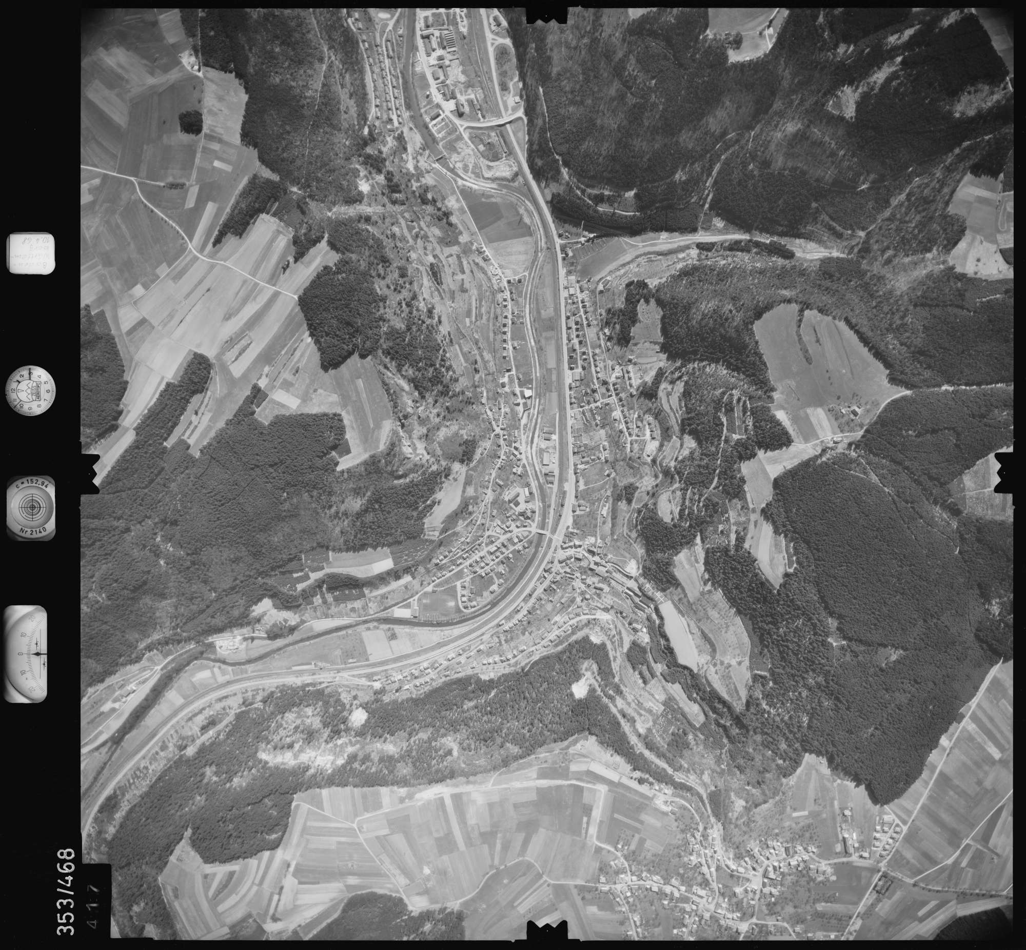 Luftbild: Film 41 Bildnr. 417, Bild 1