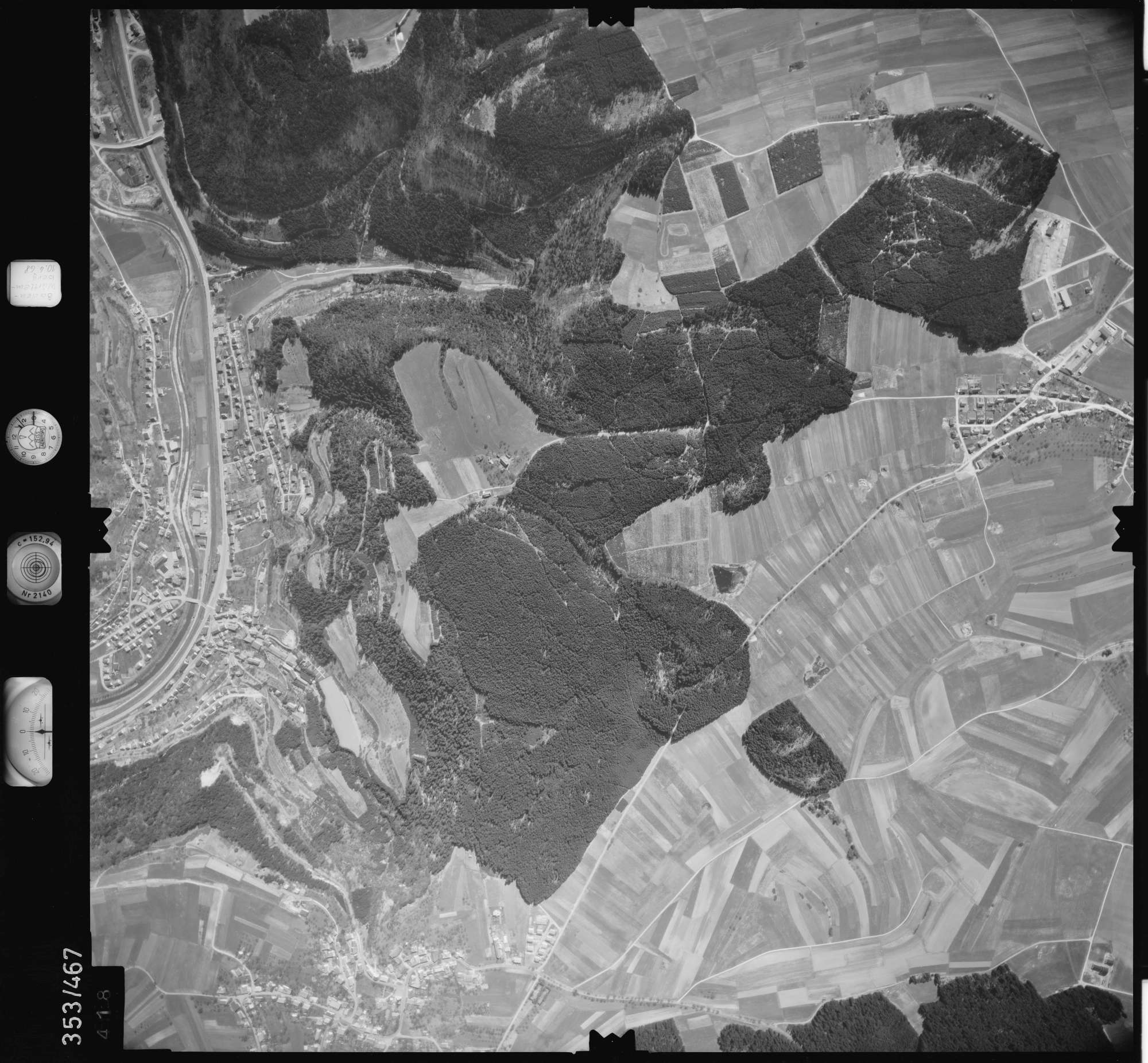 Luftbild: Film 41 Bildnr. 418, Bild 1