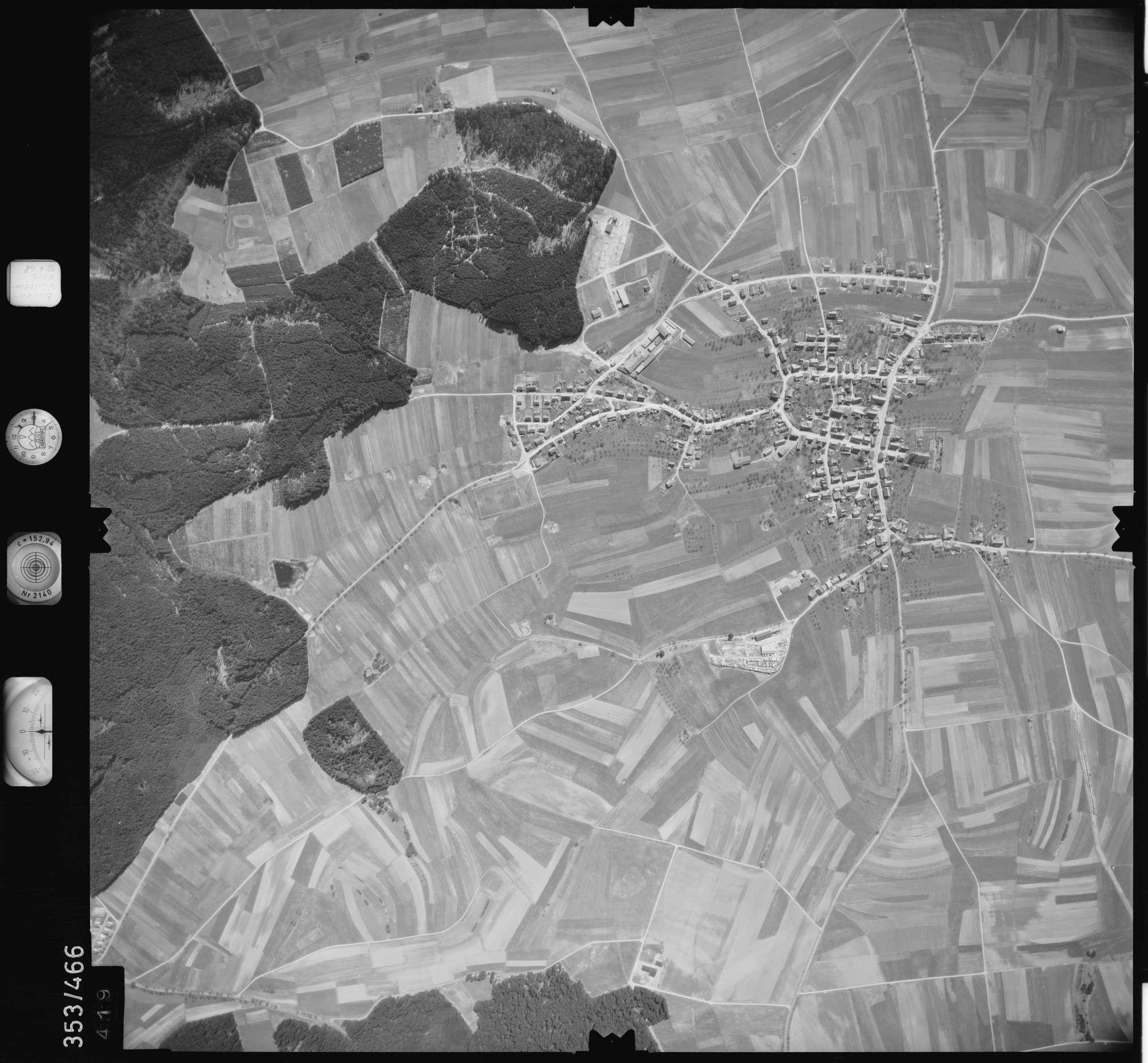 Luftbild: Film 41 Bildnr. 419, Bild 1