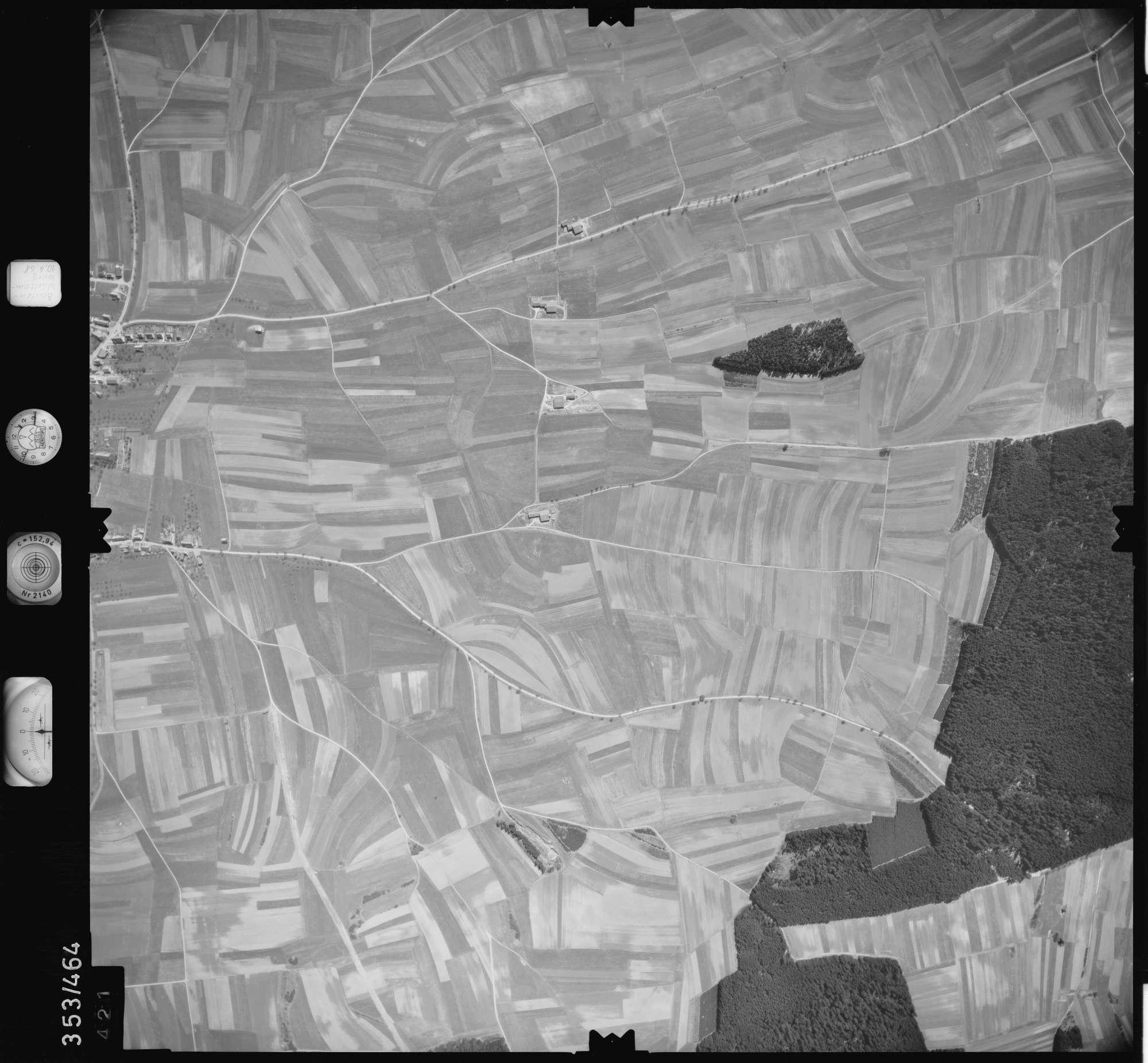 Luftbild: Film 41 Bildnr. 421, Bild 1