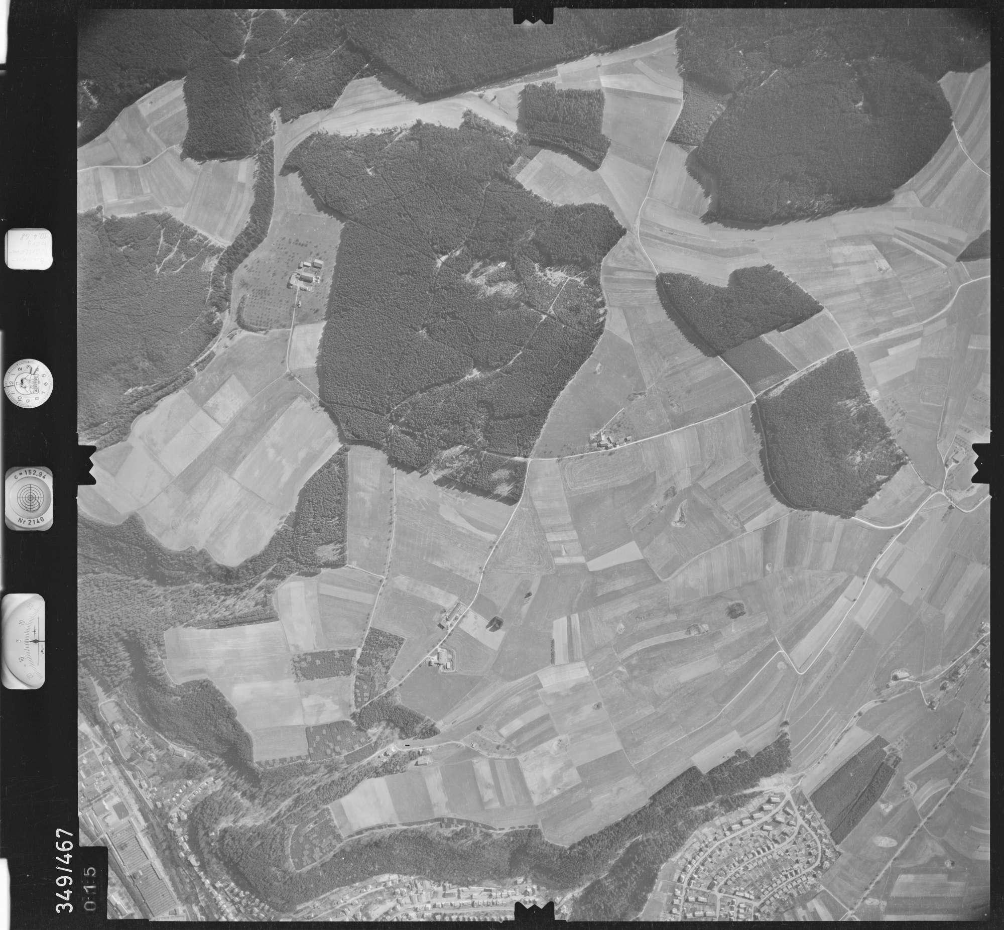 Luftbild: Film 43 Bildnr. 15, Bild 1