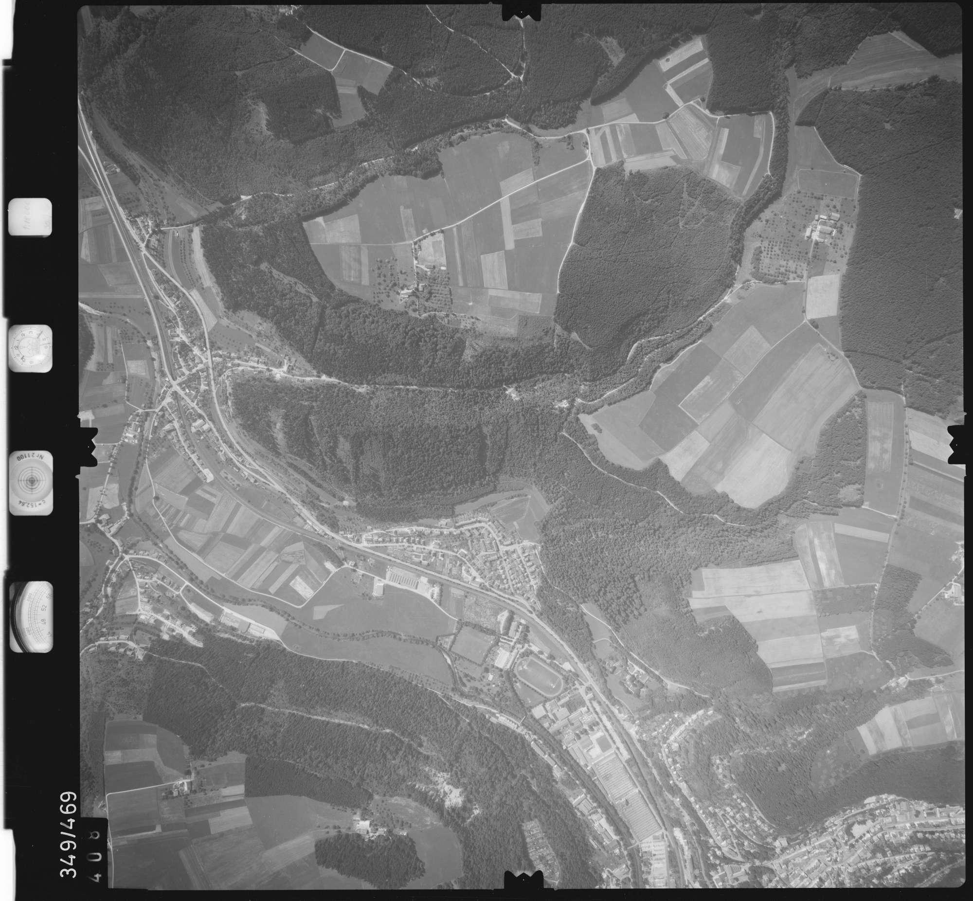 Luftbild: Film 90 Bildnr. 408, Bild 1
