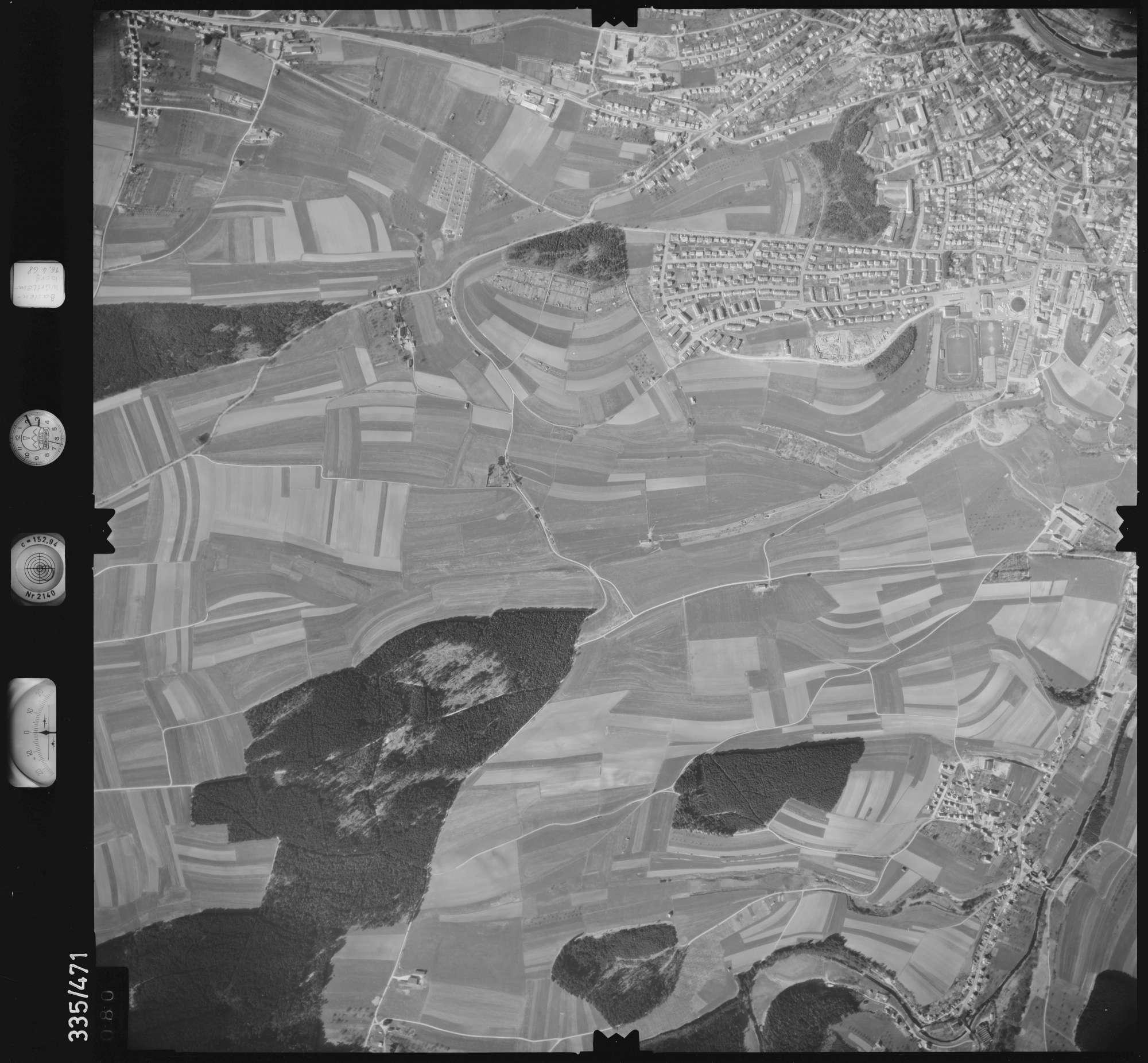 Luftbild: Film 49 Bildnr. 80, Bild 1