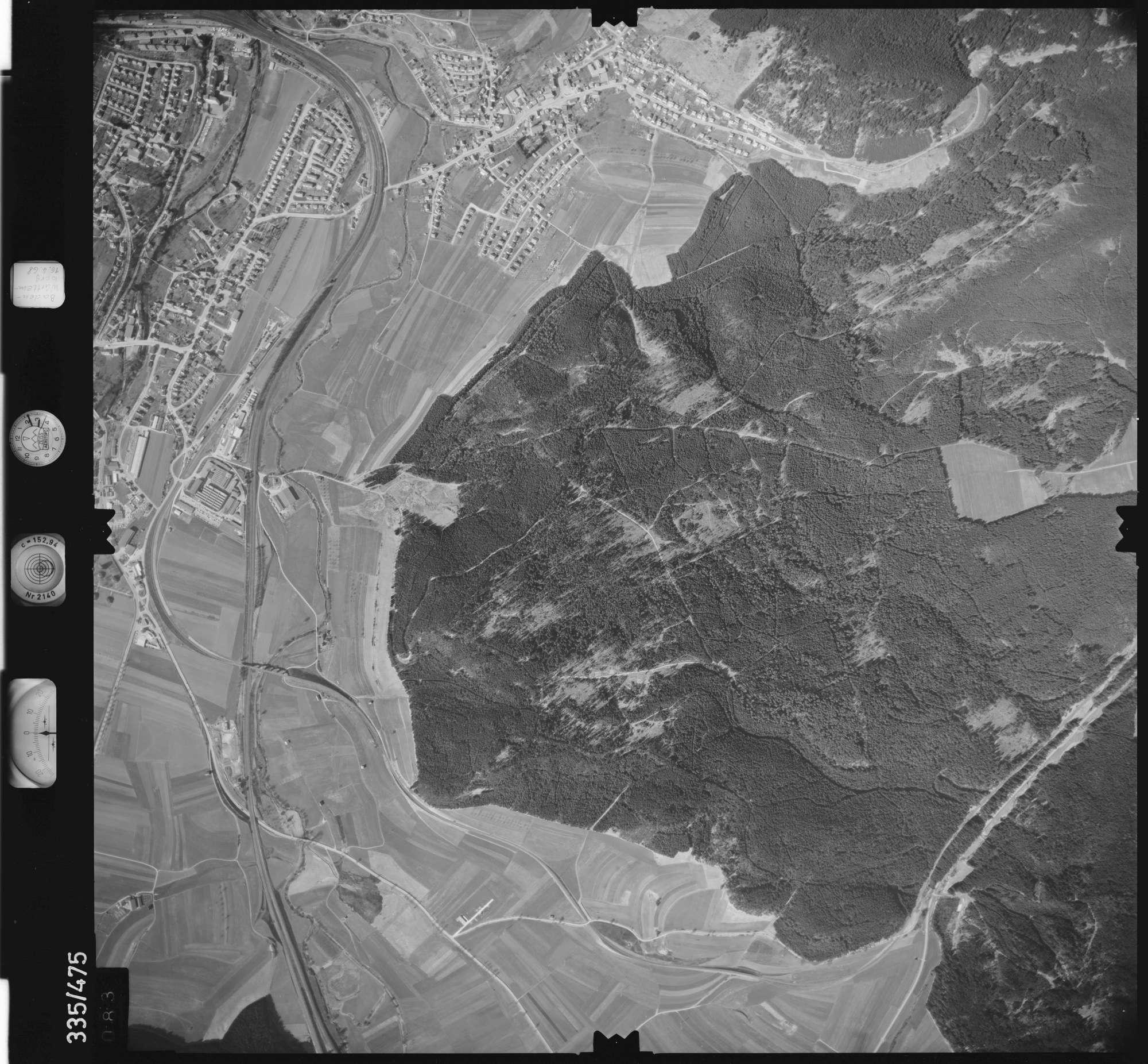 Luftbild: Film 49 Bildnr. 83, Bild 1