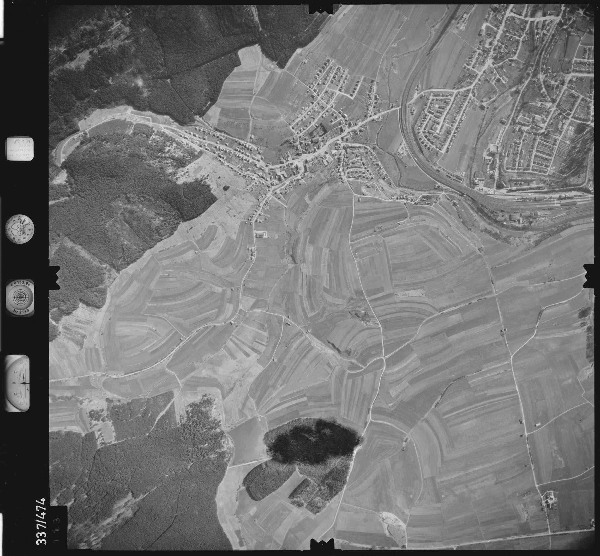 Luftbild: Film 49 Bildnr. 113, Bild 1