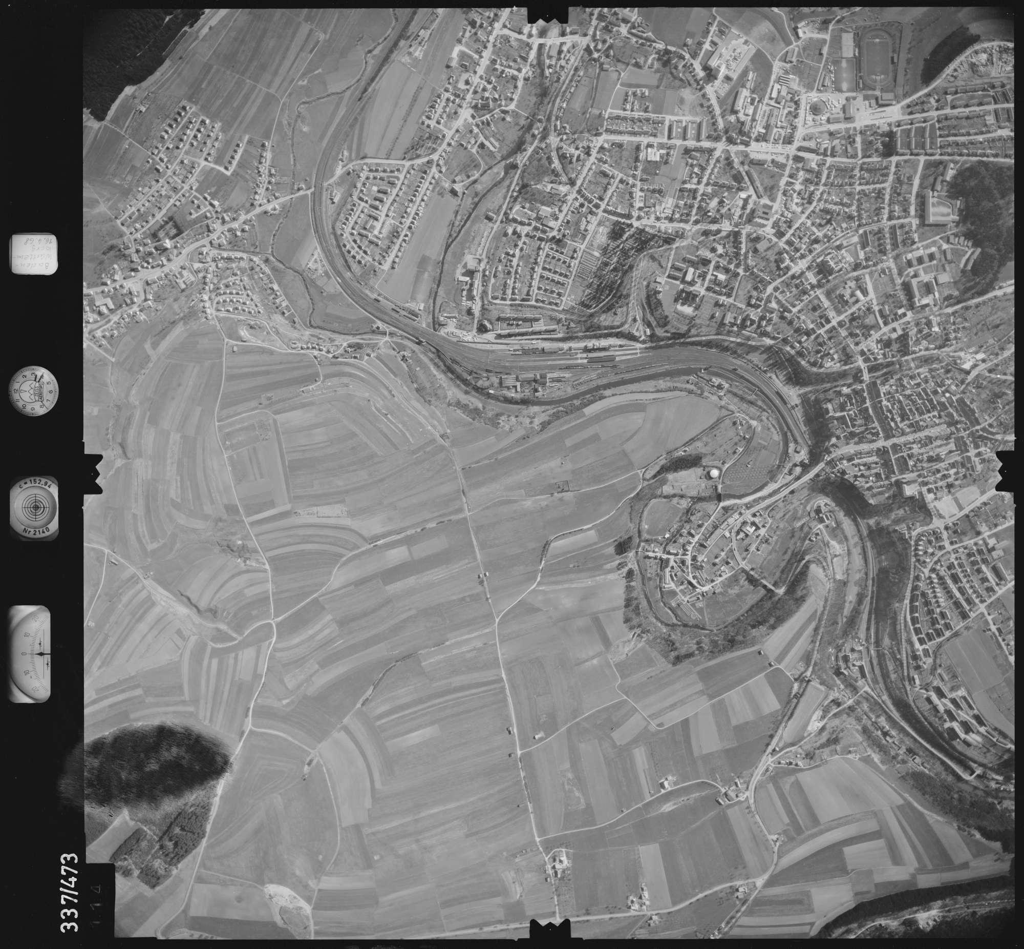 Luftbild: Film 49 Bildnr. 114, Bild 1
