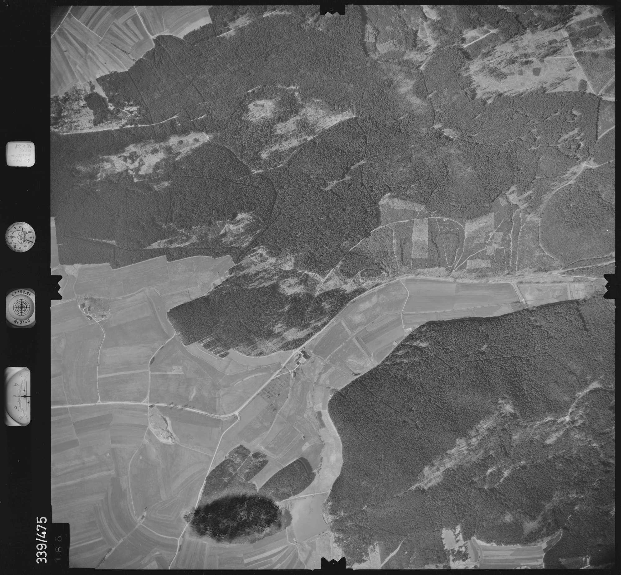 Luftbild: Film 49 Bildnr. 166, Bild 1