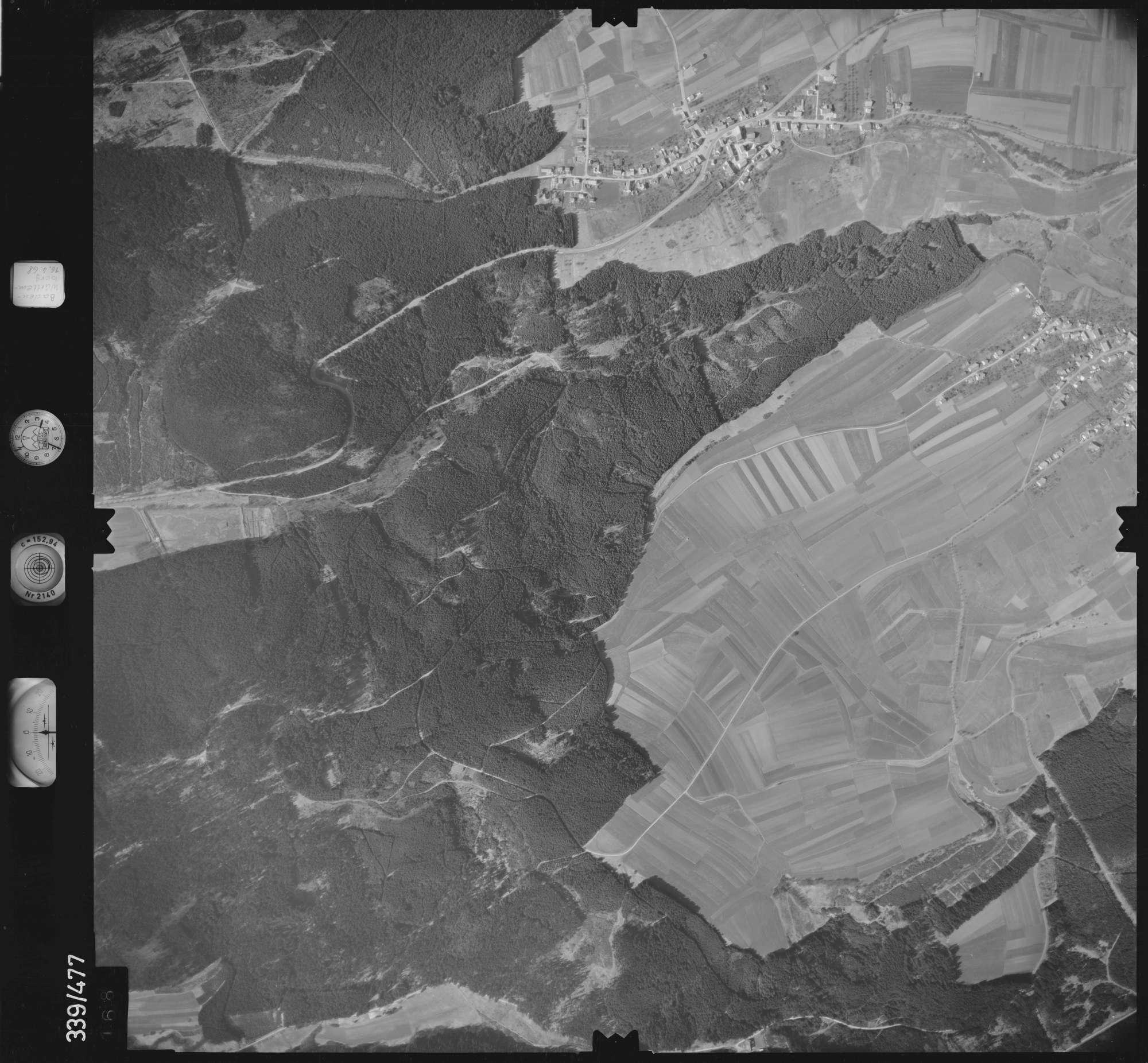 Luftbild: Film 49 Bildnr. 168, Bild 1