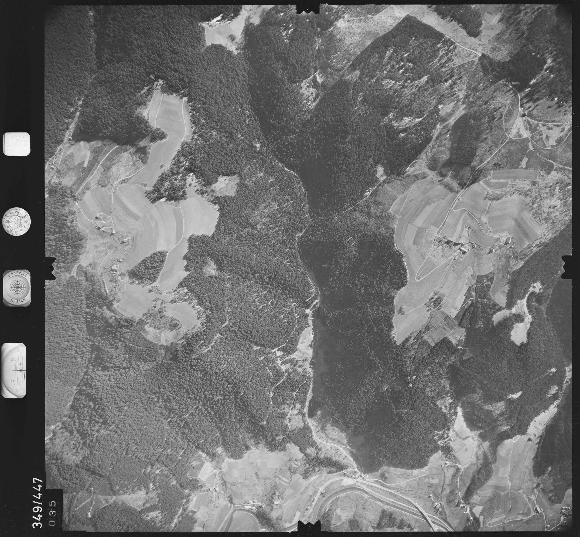 Luftbild: Film 43 Bildnr. 35, Bild 1
