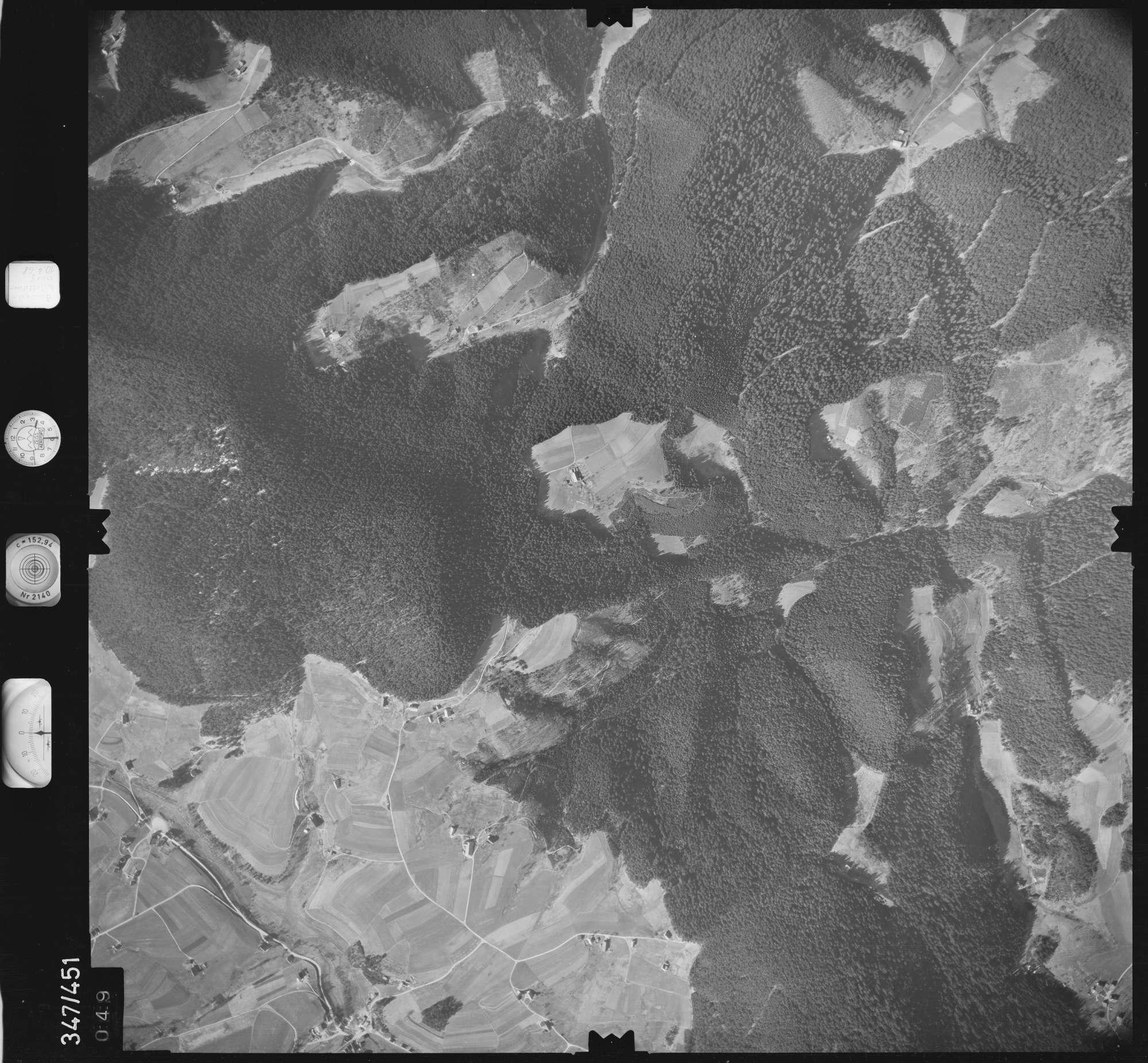 Luftbild: Film 43 Bildnr. 49, Bild 1