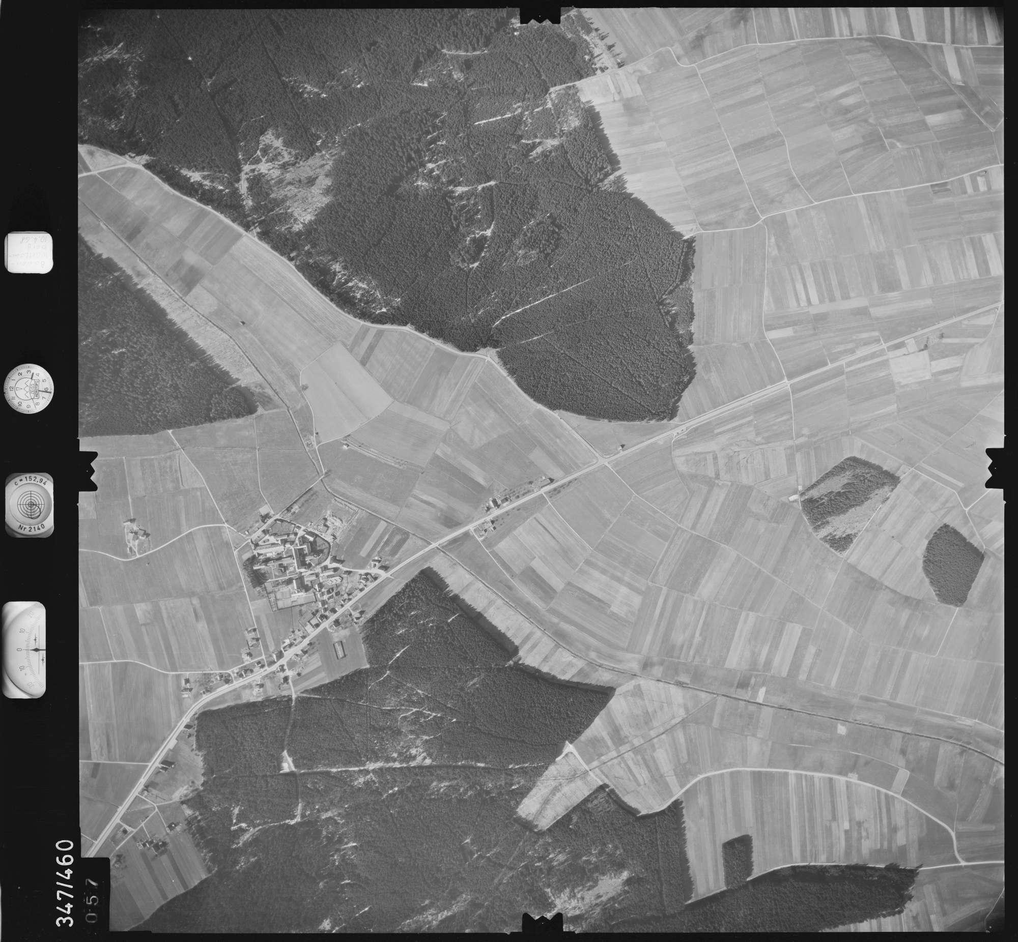 Luftbild: Film 43 Bildnr. 57, Bild 1
