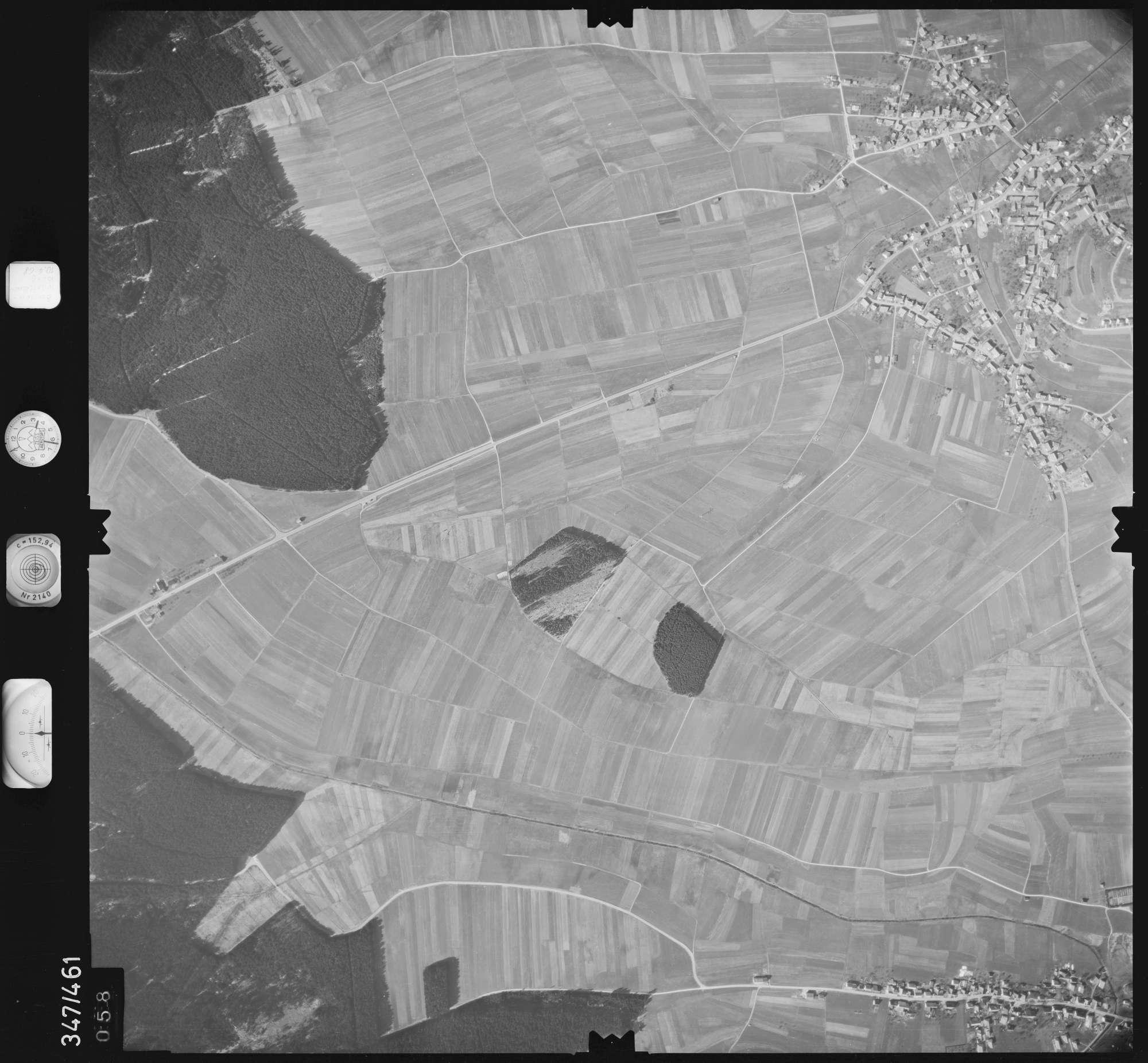 Luftbild: Film 43 Bildnr. 58, Bild 1