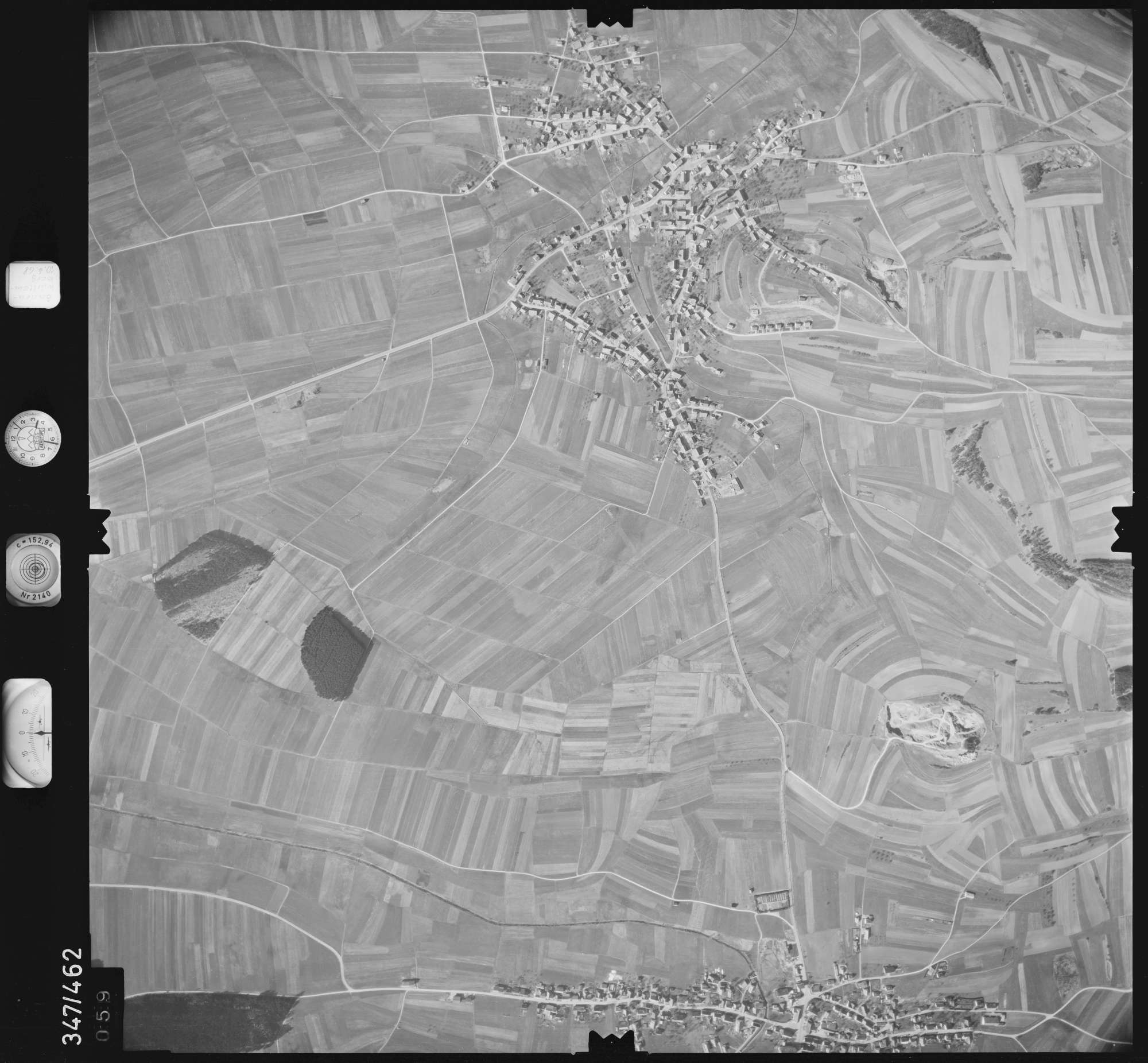 Luftbild: Film 43 Bildnr. 59, Bild 1
