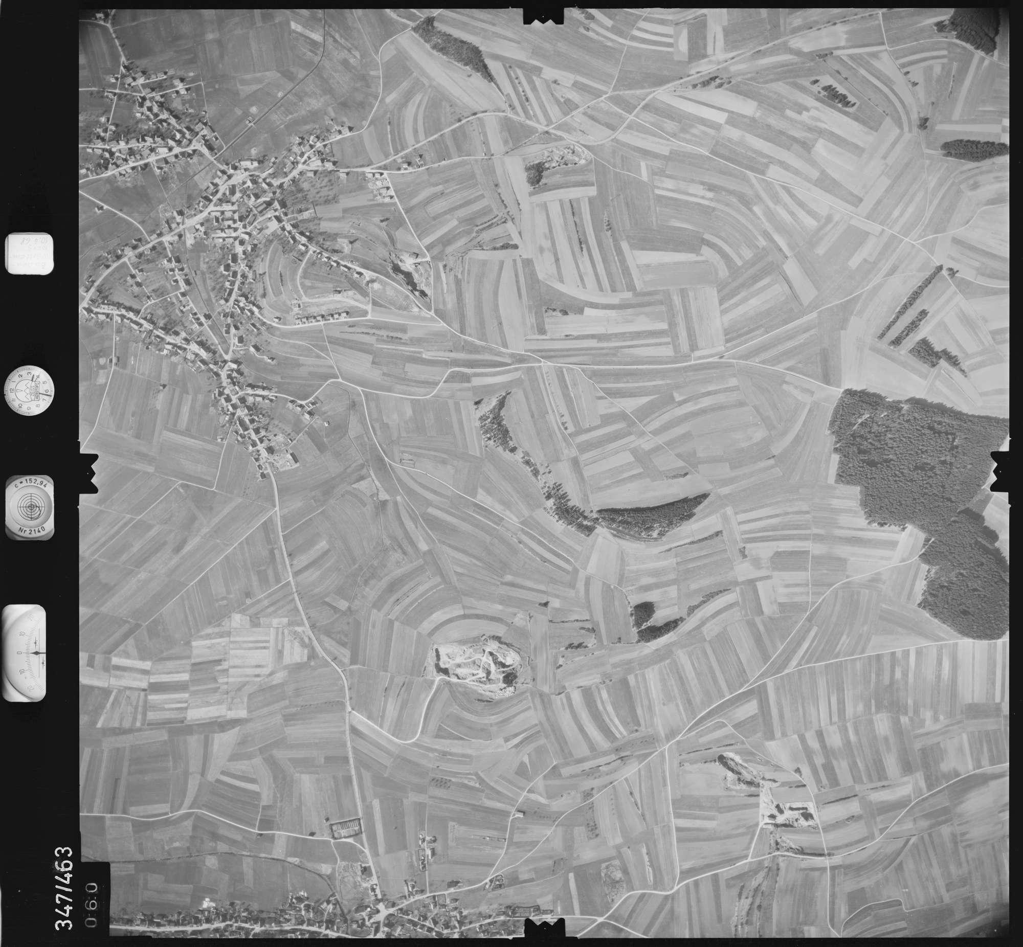 Luftbild: Film 43 Bildnr. 60, Bild 1