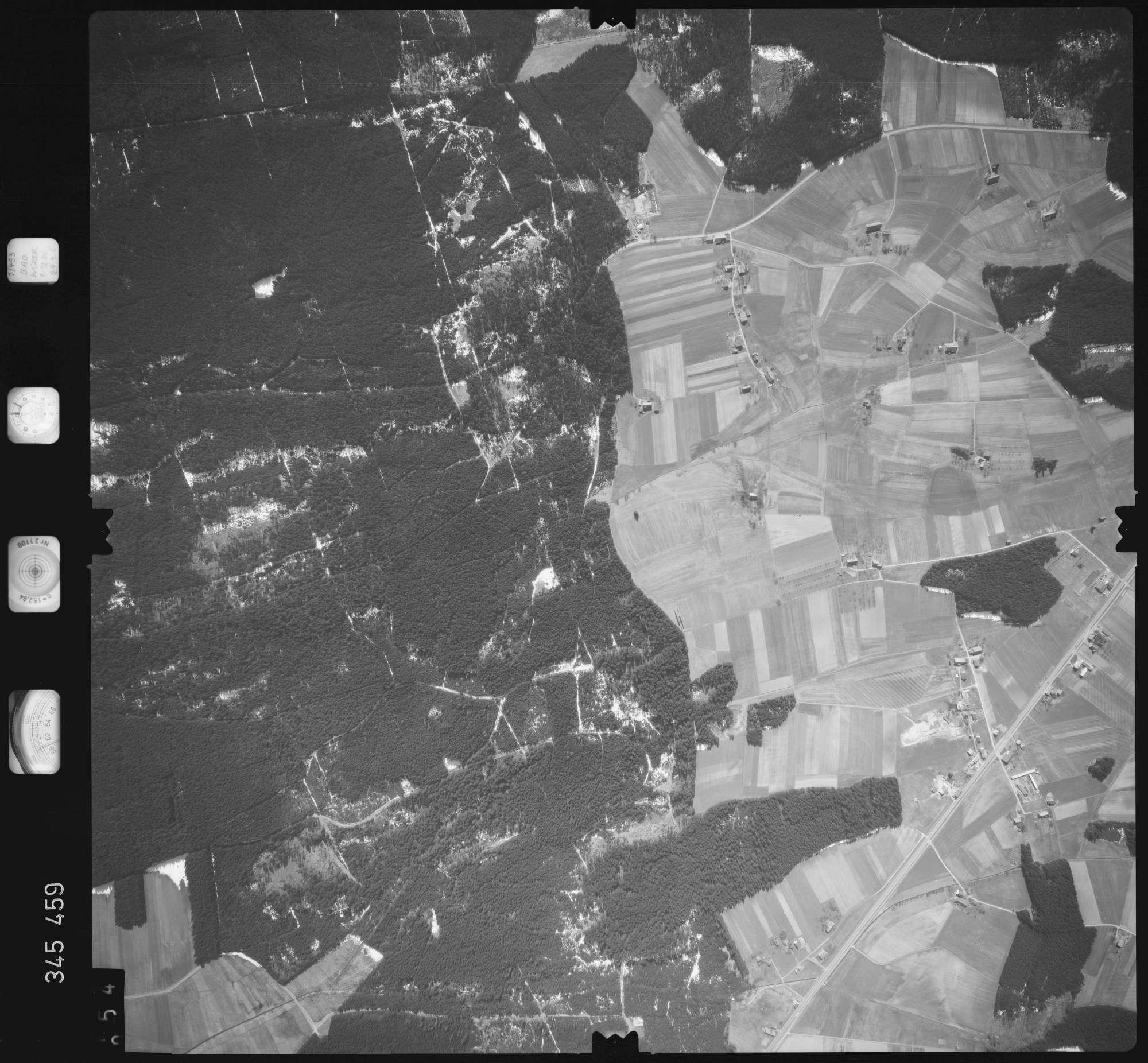 Luftbild: Film 44 Bildnr. 54, Bild 1
