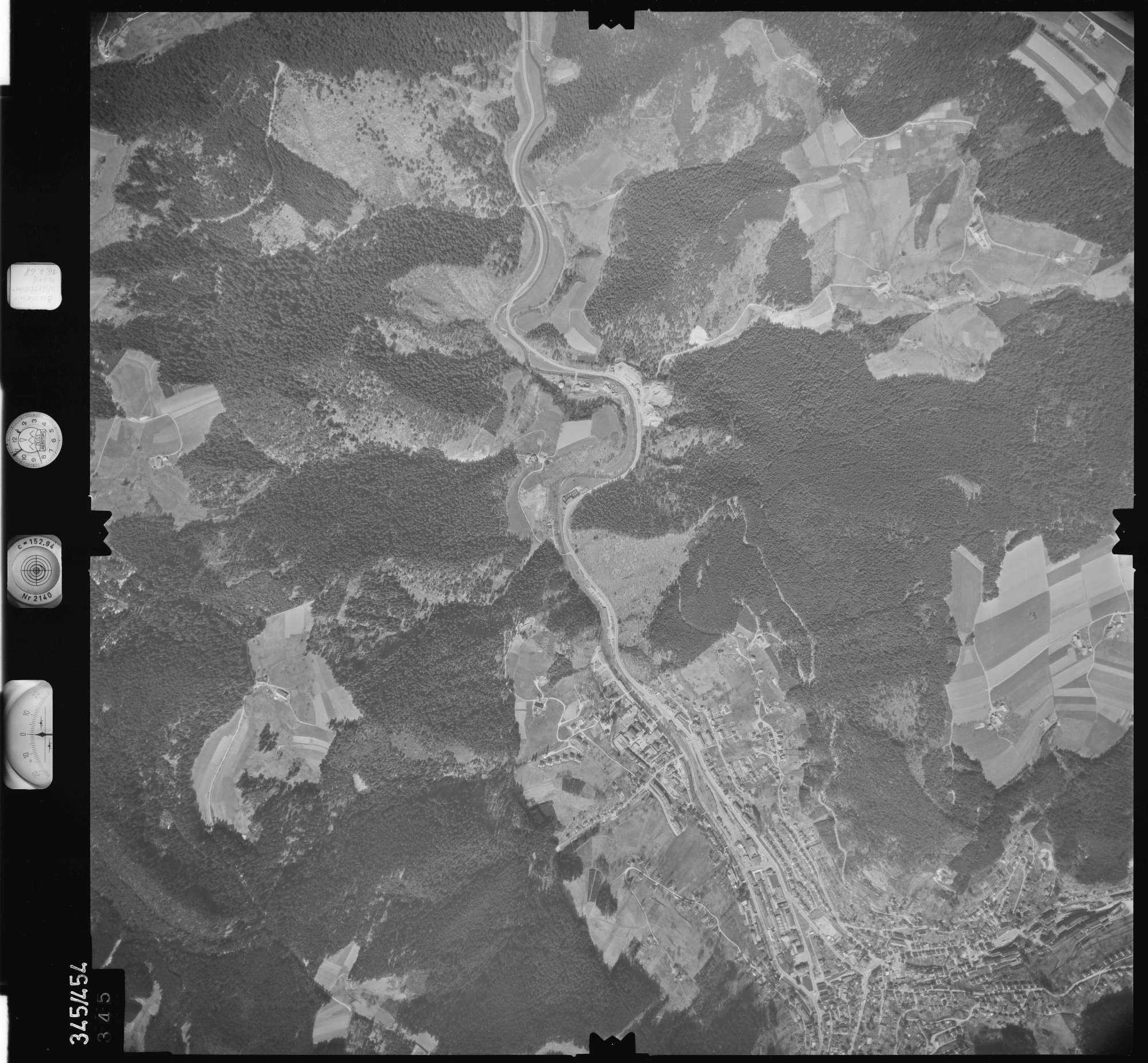 Luftbild: Film 89 Bildnr. 345, Bild 1