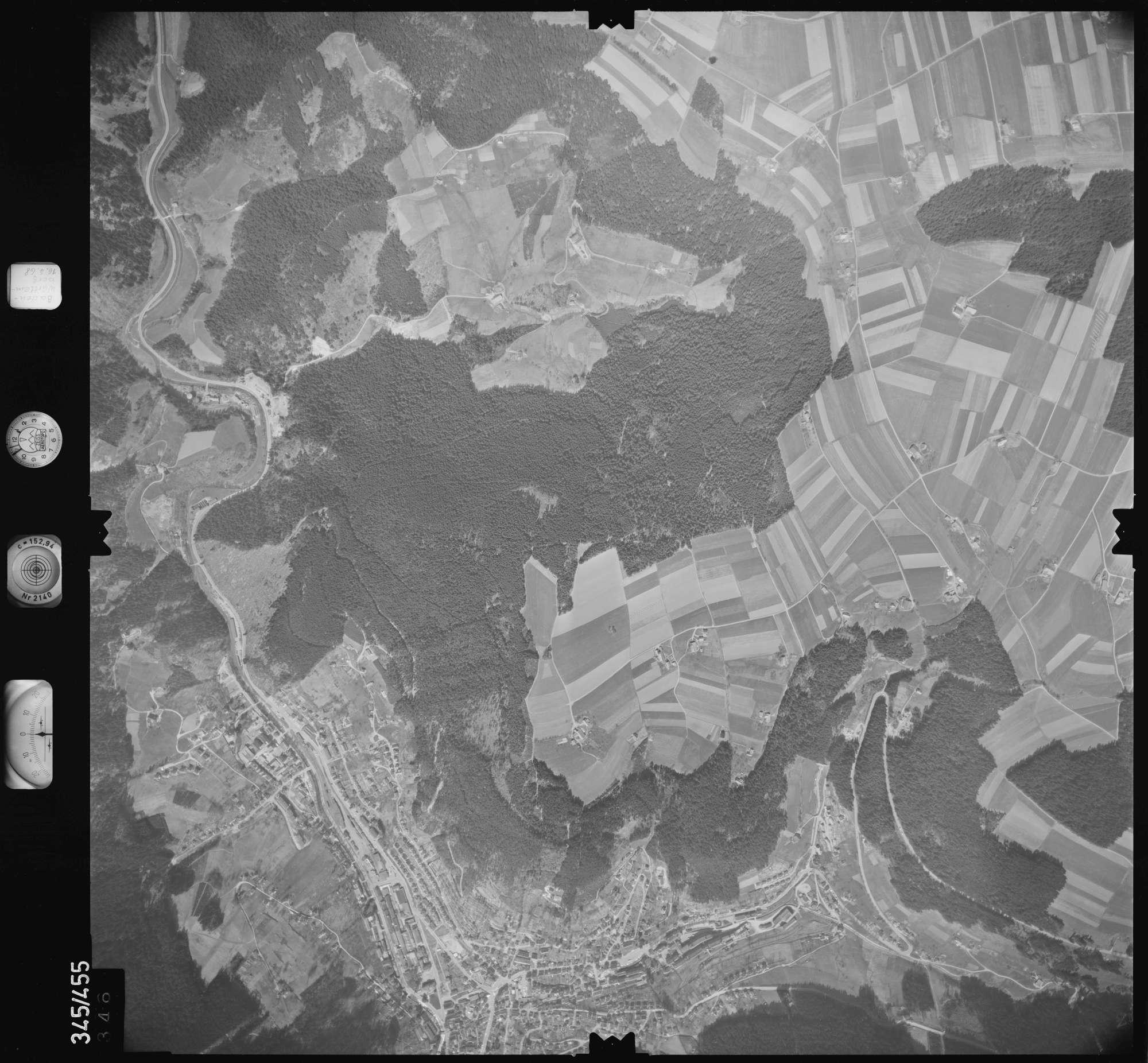 Luftbild: Film 89 Bildnr. 346, Bild 1