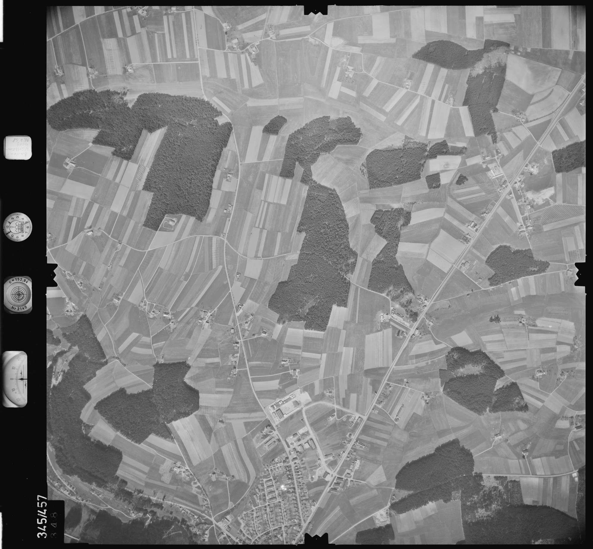 Luftbild: Film 89 Bildnr. 348, Bild 1