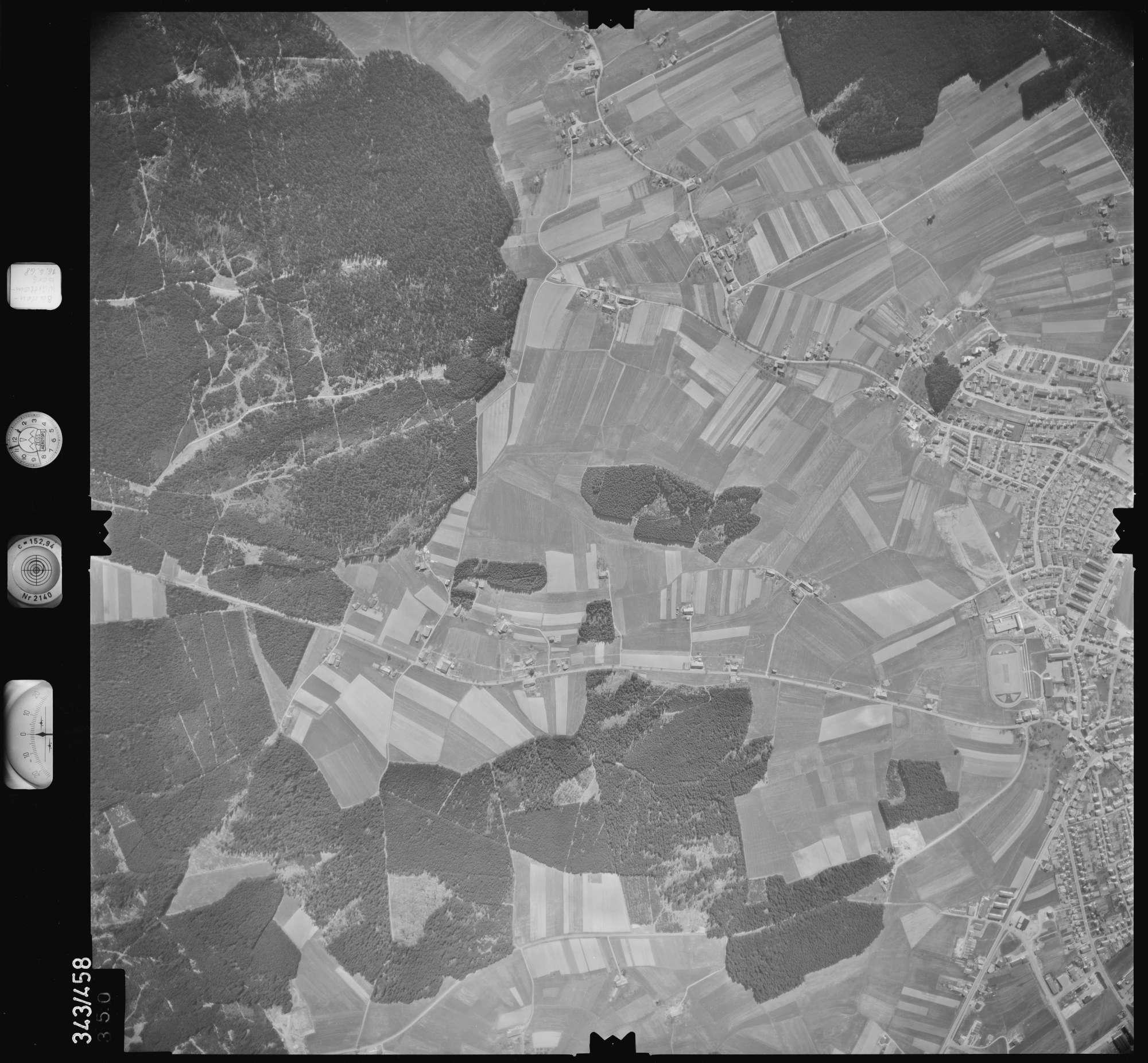 Luftbild: Film 89 Bildnr. 350, Bild 1
