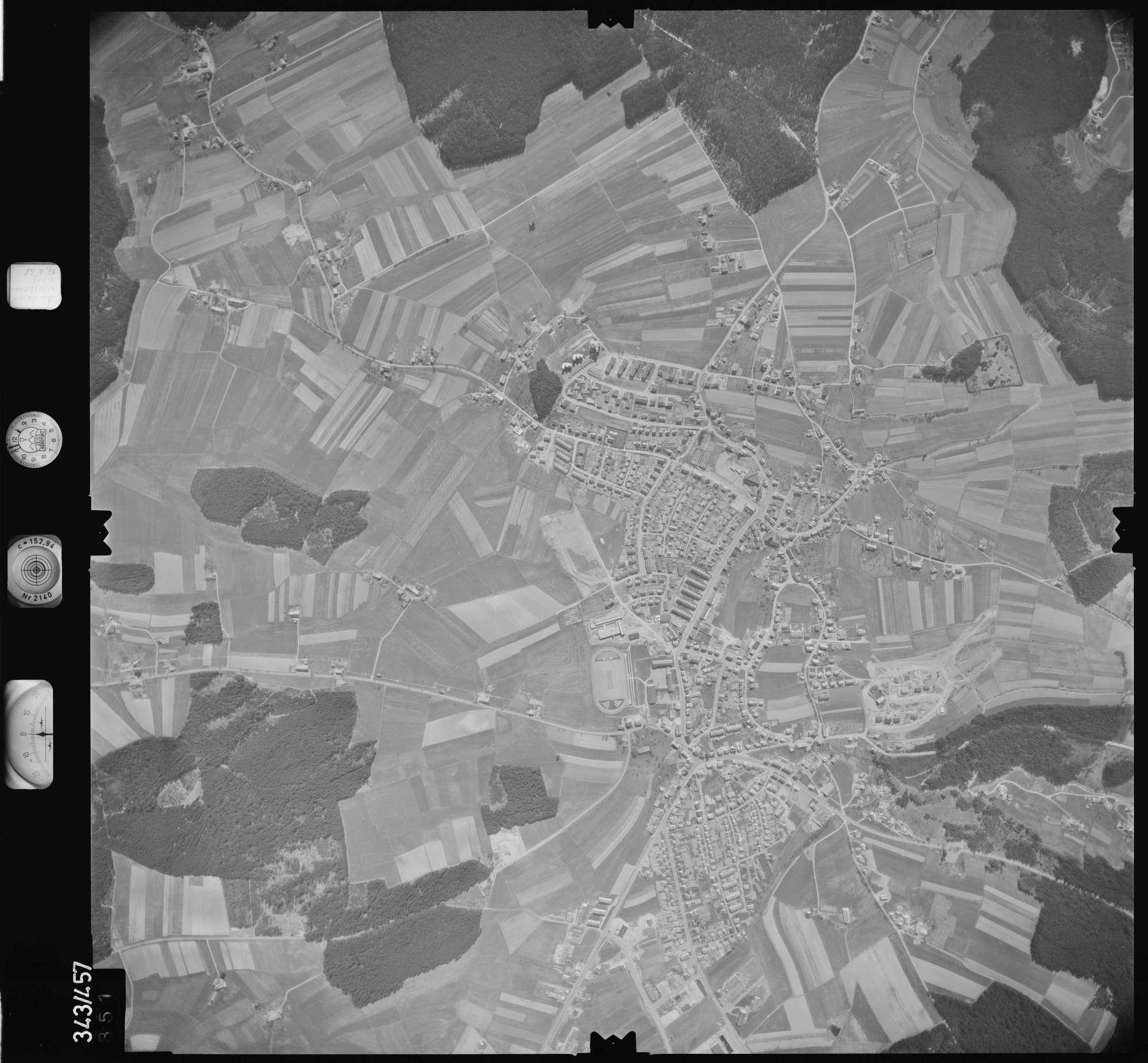 Luftbild: Film 89 Bildnr. 351, Bild 1