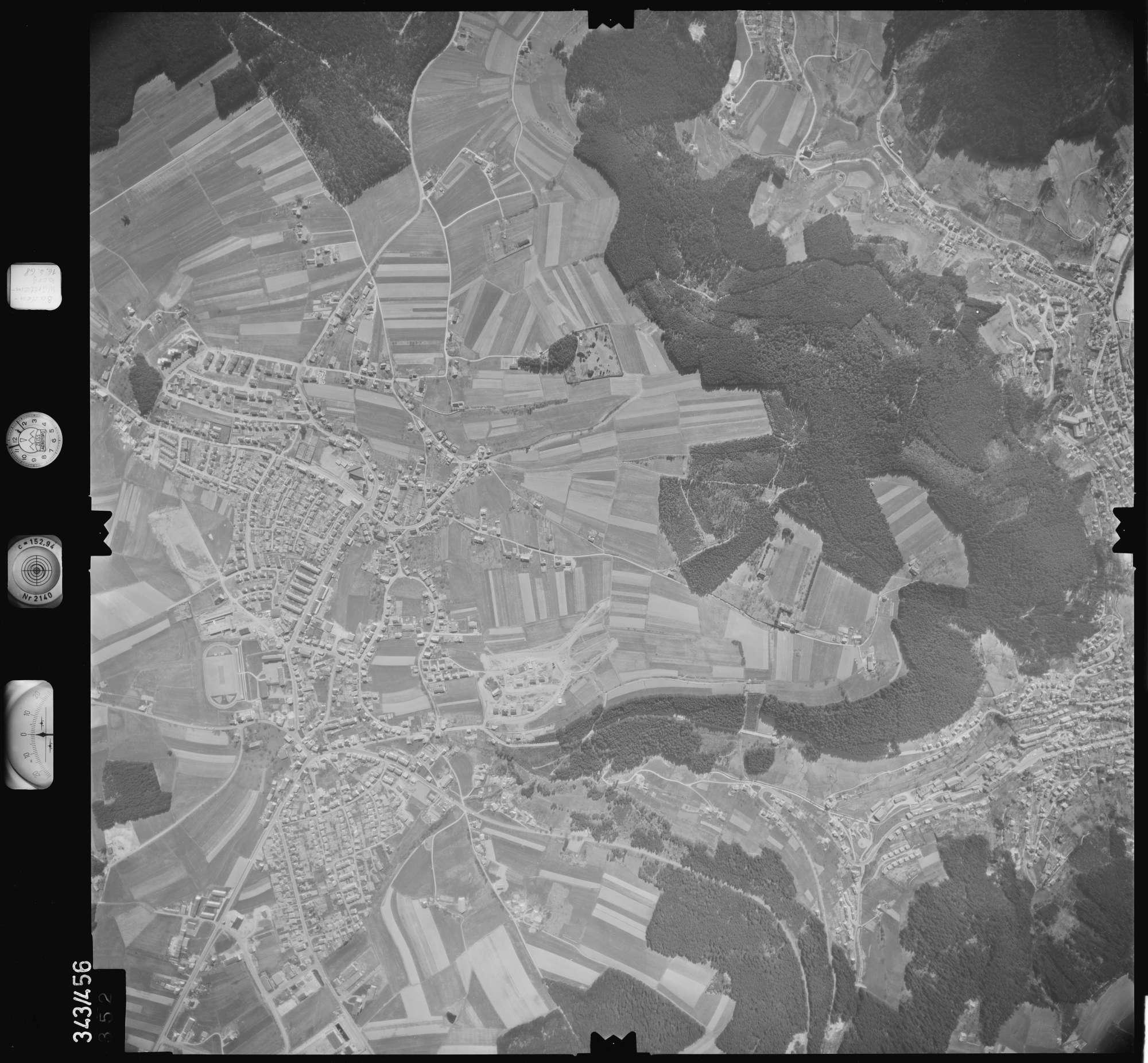 Luftbild: Film 89 Bildnr. 352, Bild 1
