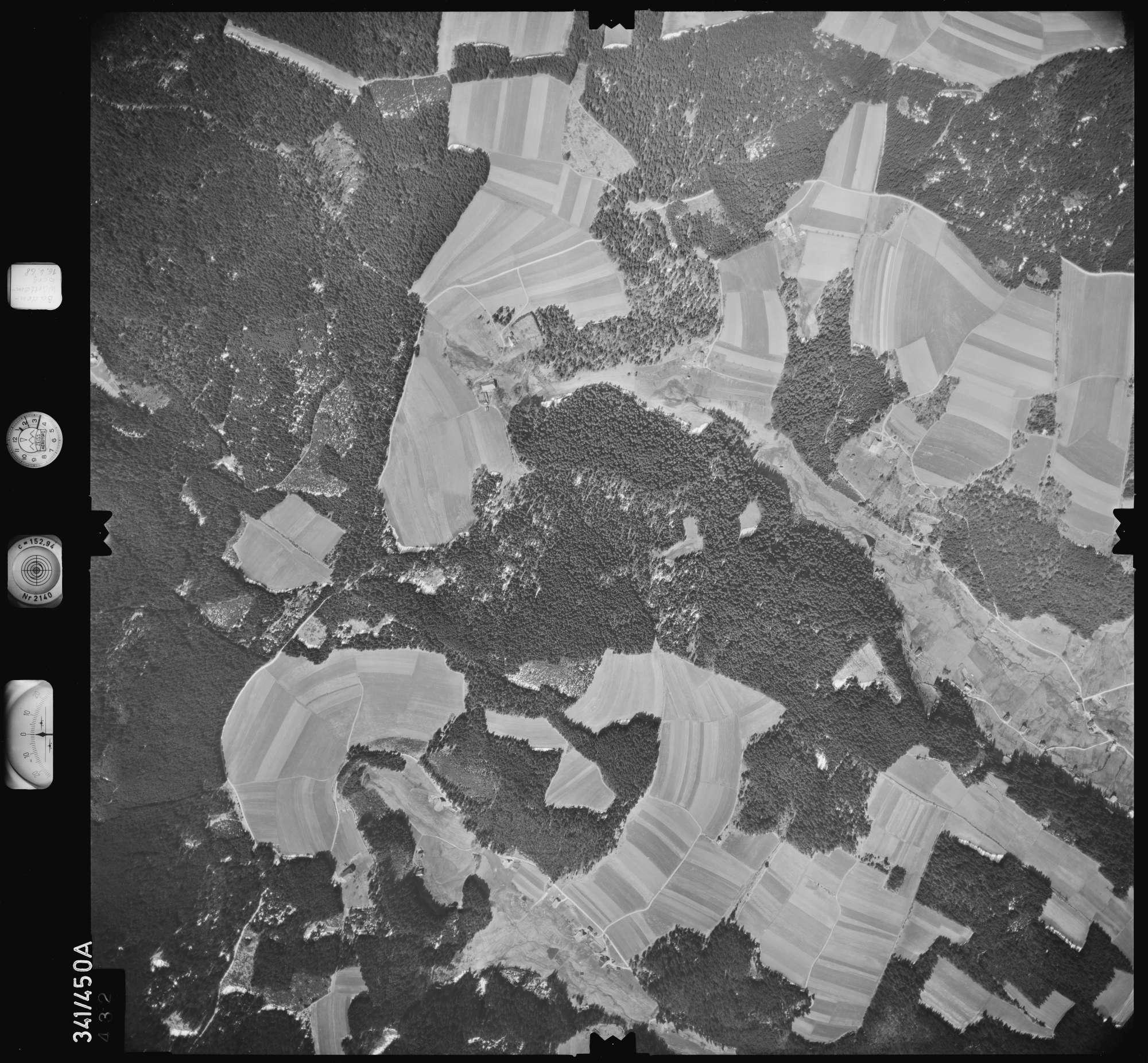 Luftbild: Film 89 Bildnr. 432, Bild 1