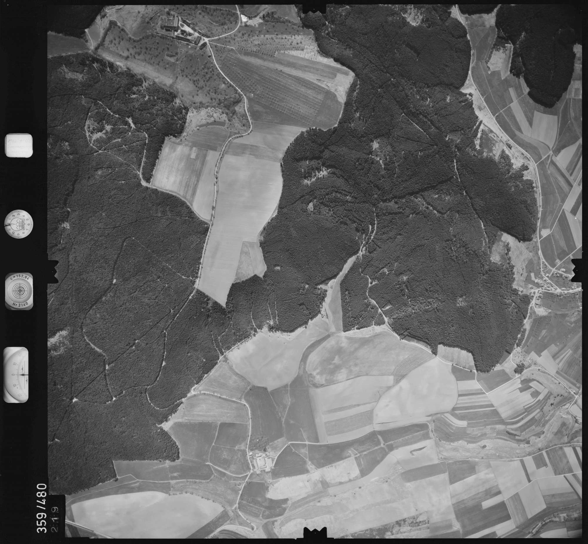Luftbild: Film 11 Bildnr. 219, Bild 1
