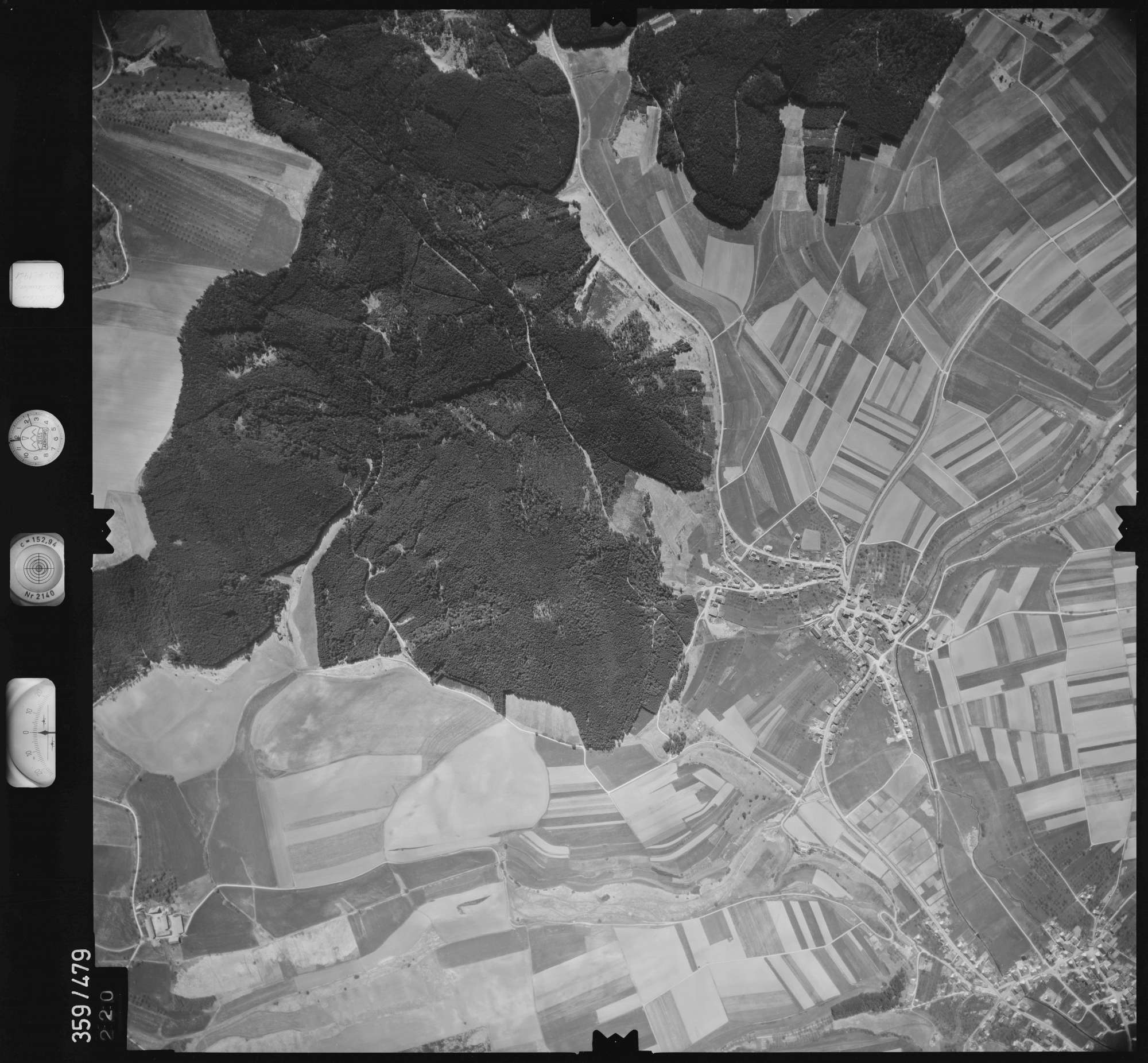 Luftbild: Film 11 Bildnr. 220, Bild 1