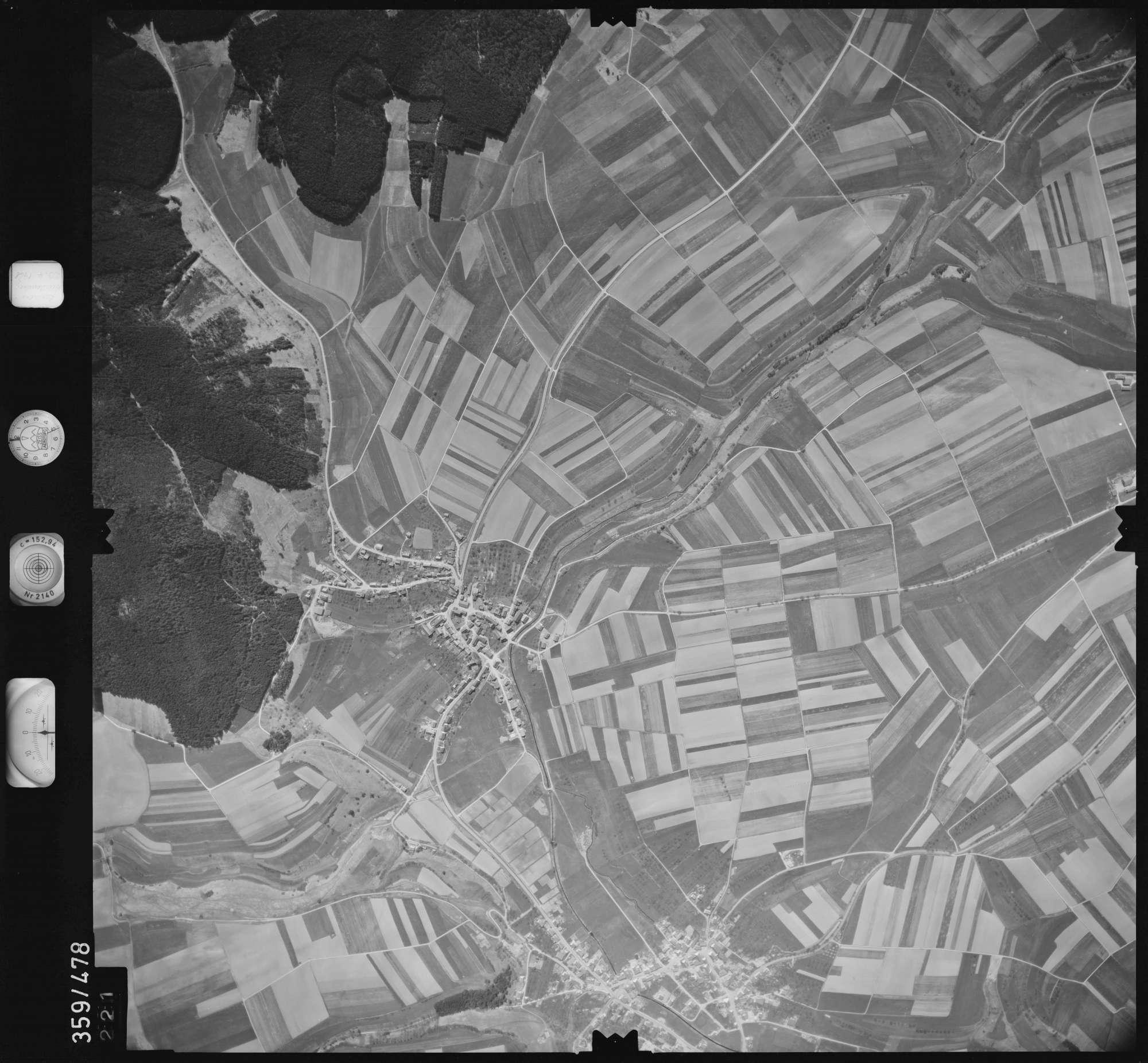 Luftbild: Film 11 Bildnr. 221, Bild 1
