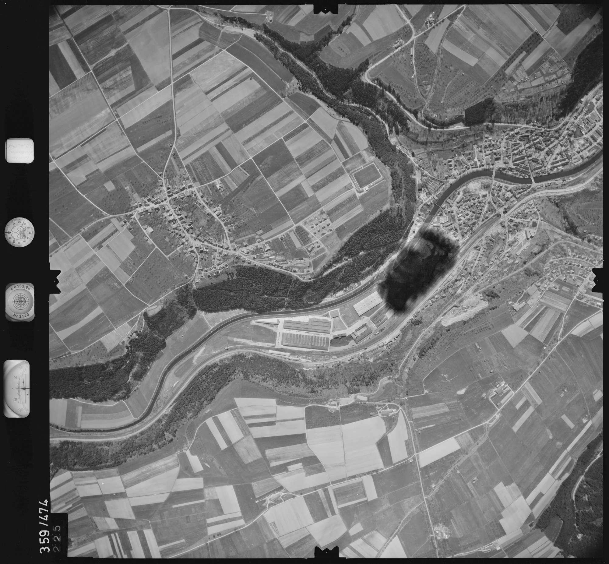 Luftbild: Film 11 Bildnr. 225, Bild 1