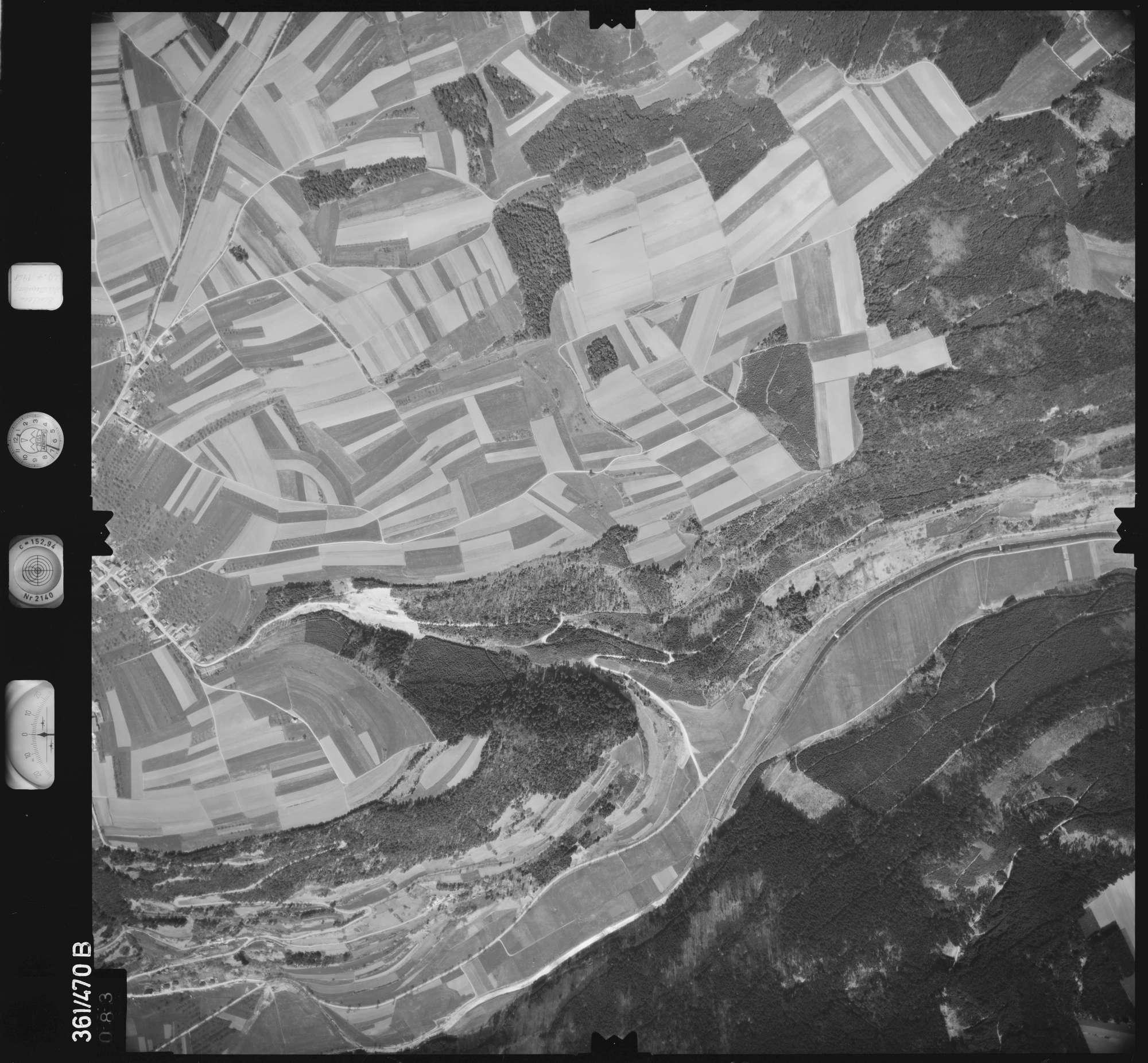 Luftbild: Film 15 Bildnr. 83, Bild 1