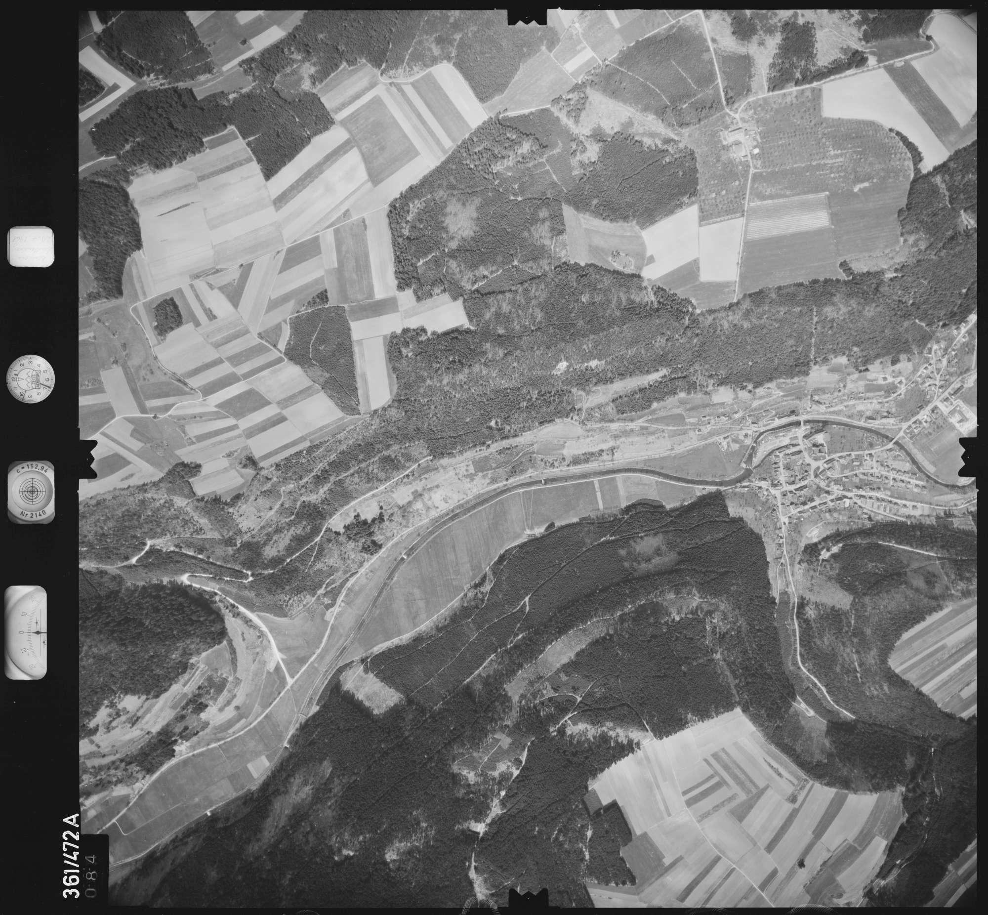 Luftbild: Film 15 Bildnr. 84, Bild 1