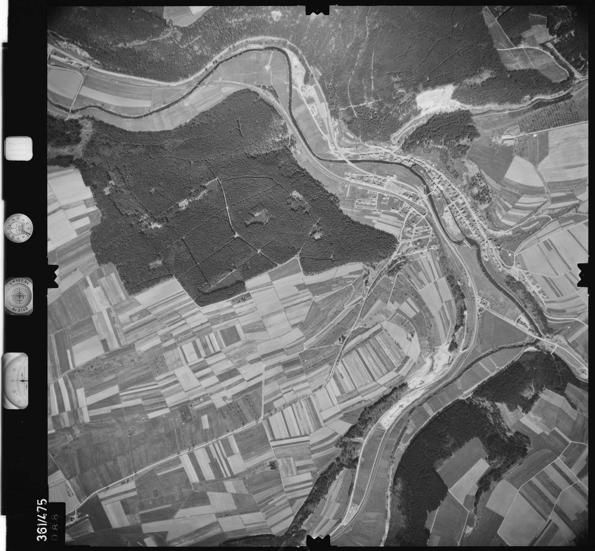 Luftbild: Film 15 Bildnr. 88, Bild 1