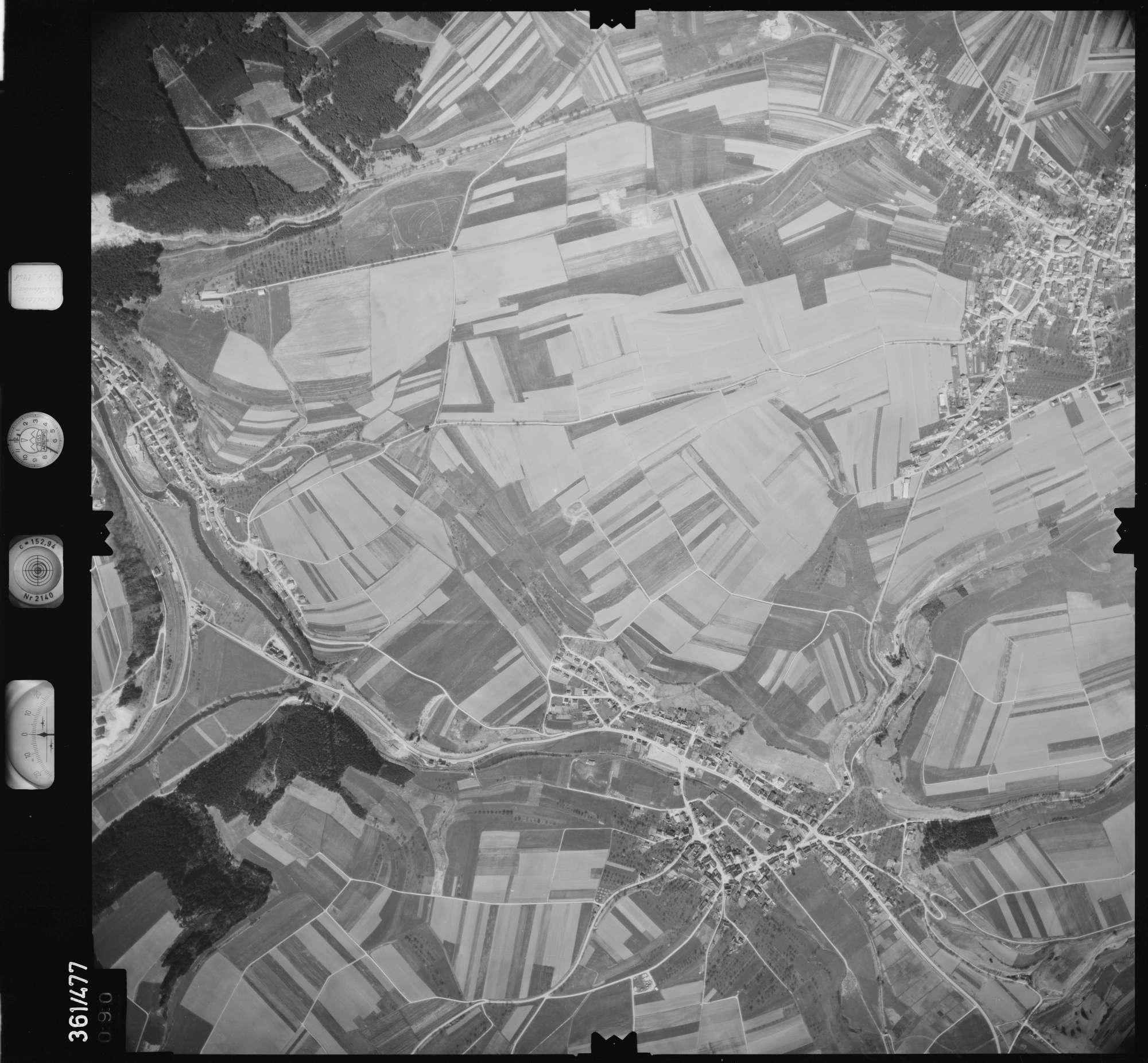 Luftbild: Film 15 Bildnr. 90, Bild 1