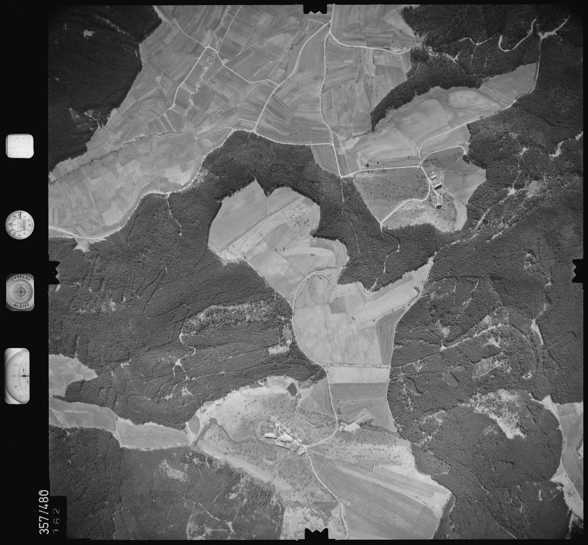 Luftbild: Film 38 Bildnr. 162, Bild 1