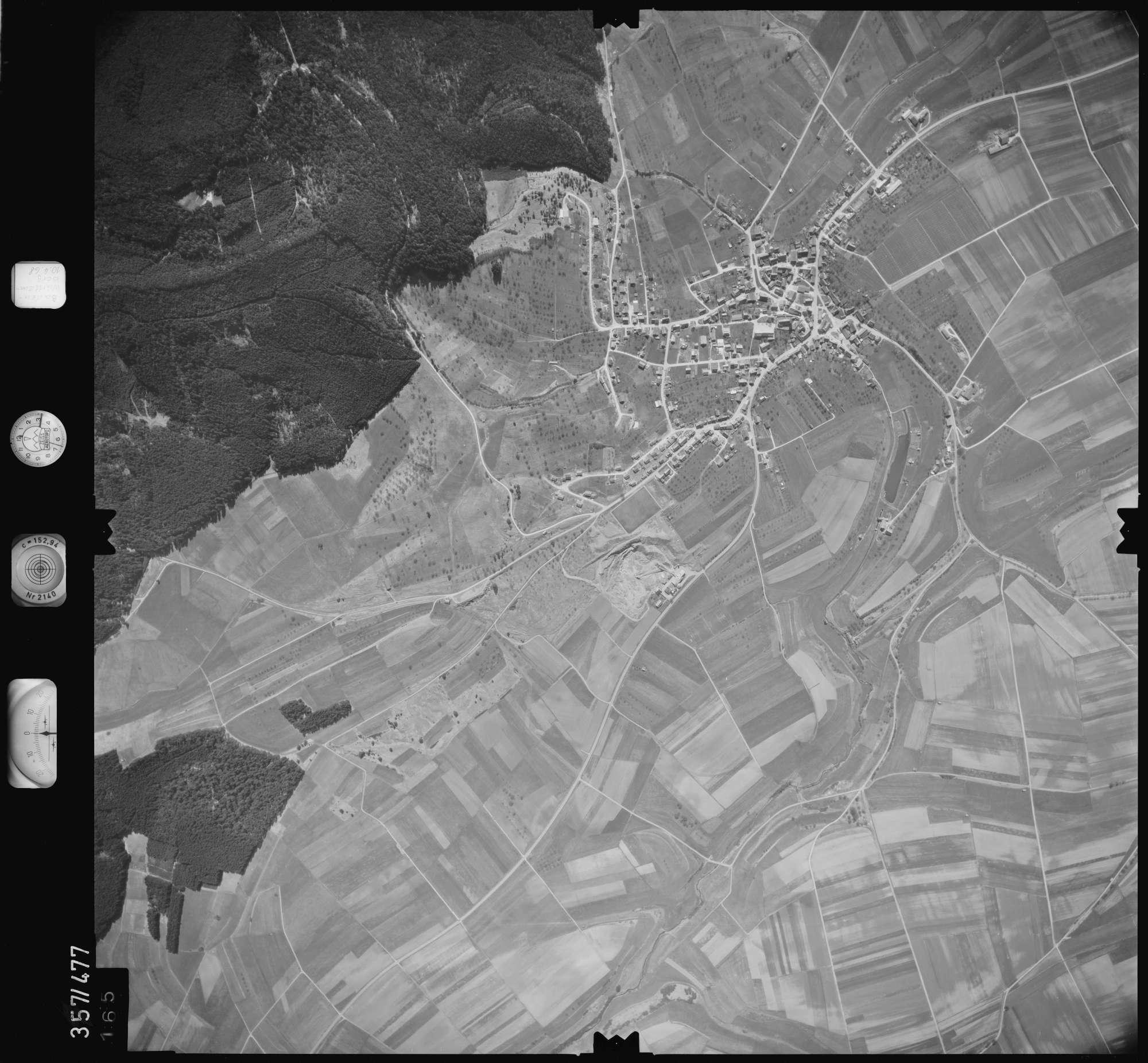 Luftbild: Film 38 Bildnr. 165, Bild 1