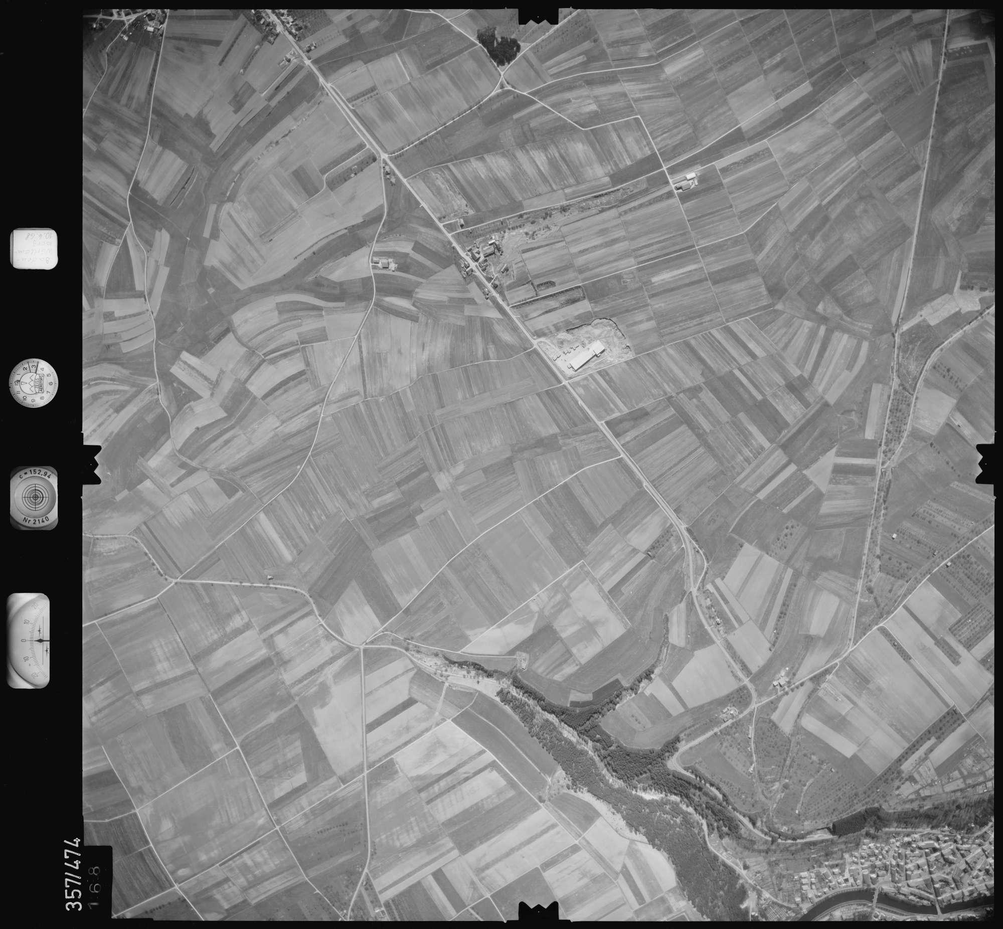 Luftbild: Film 38 Bildnr. 168, Bild 1