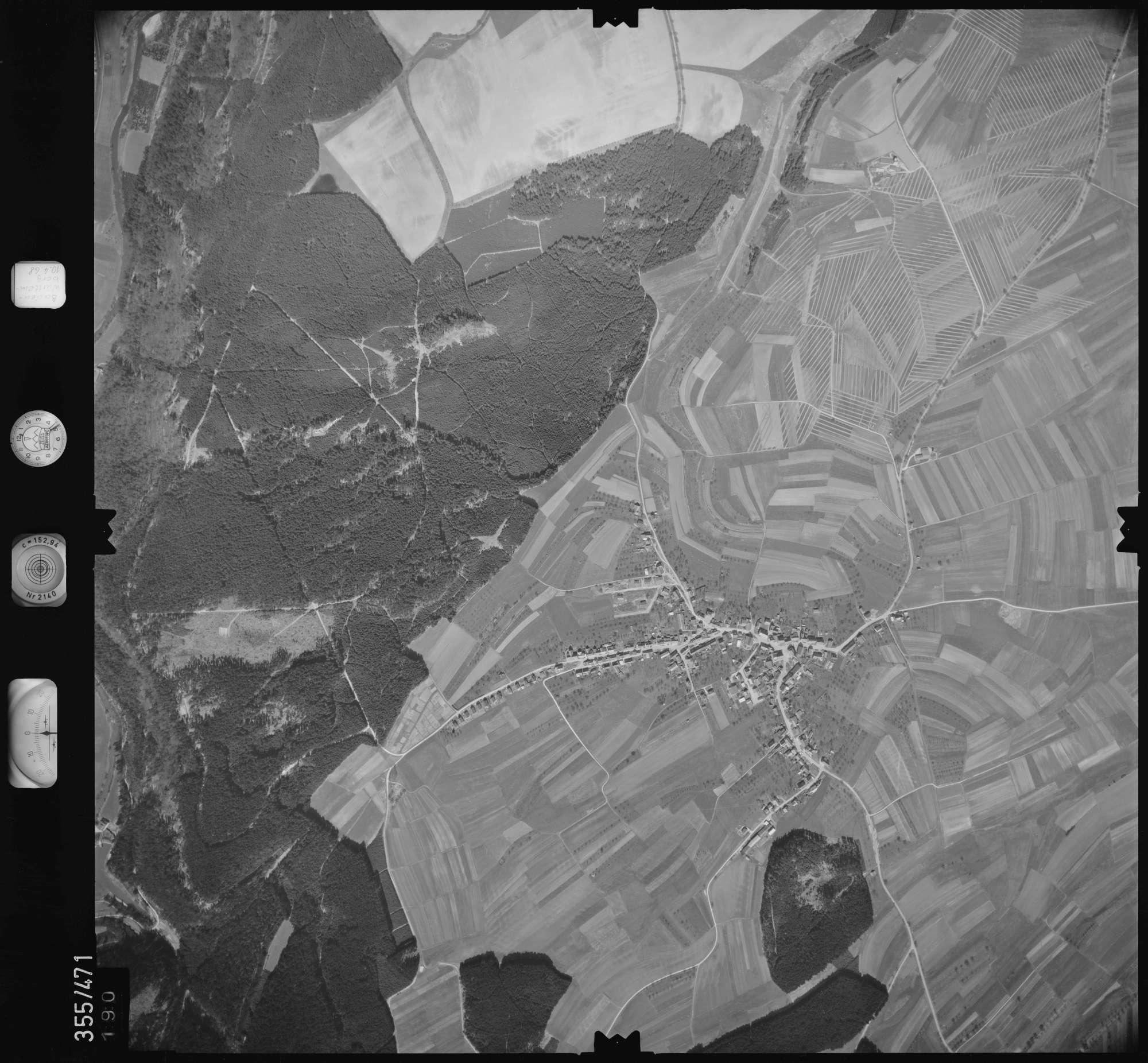 Luftbild: Film 38 Bildnr. 190, Bild 1